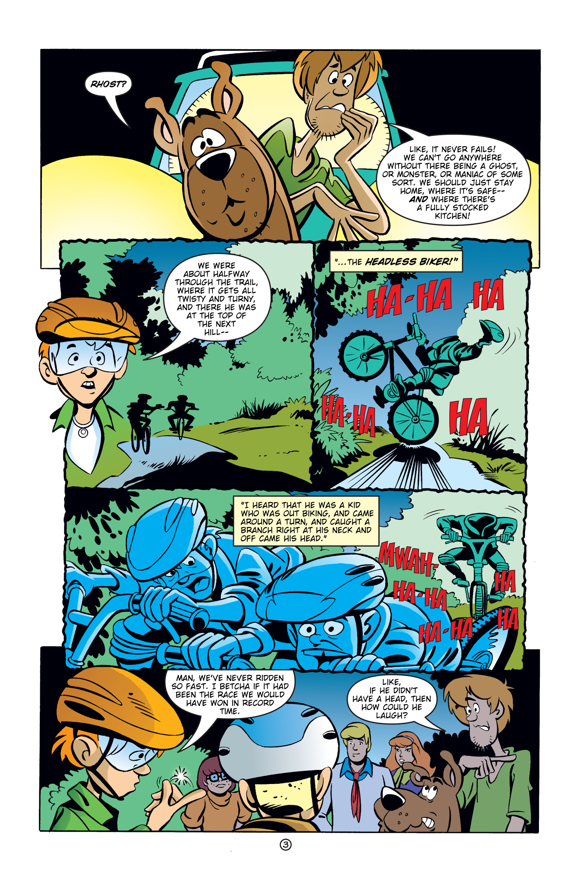 Read online Scooby-Doo (1997) comic -  Issue #39 - 4