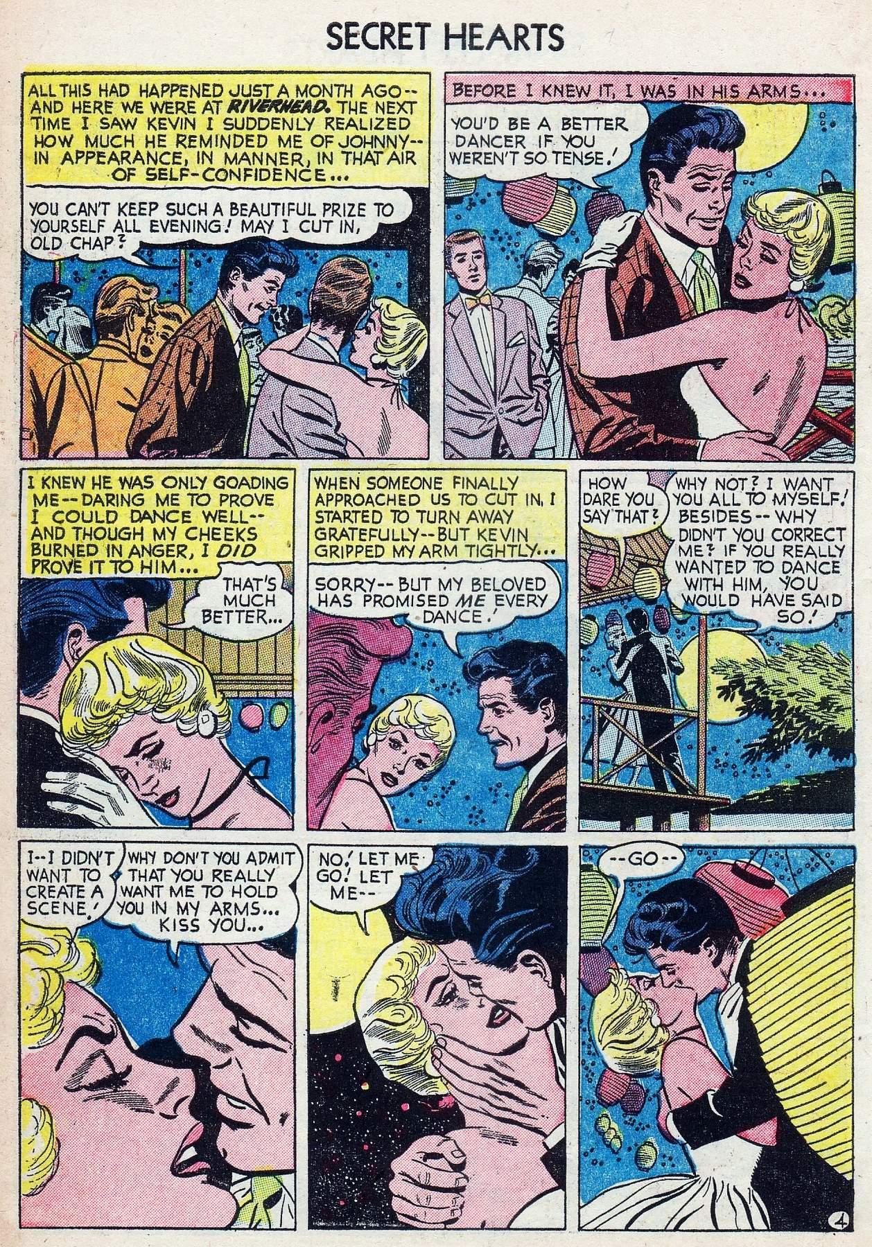 Read online Secret Hearts comic -  Issue #25 - 6