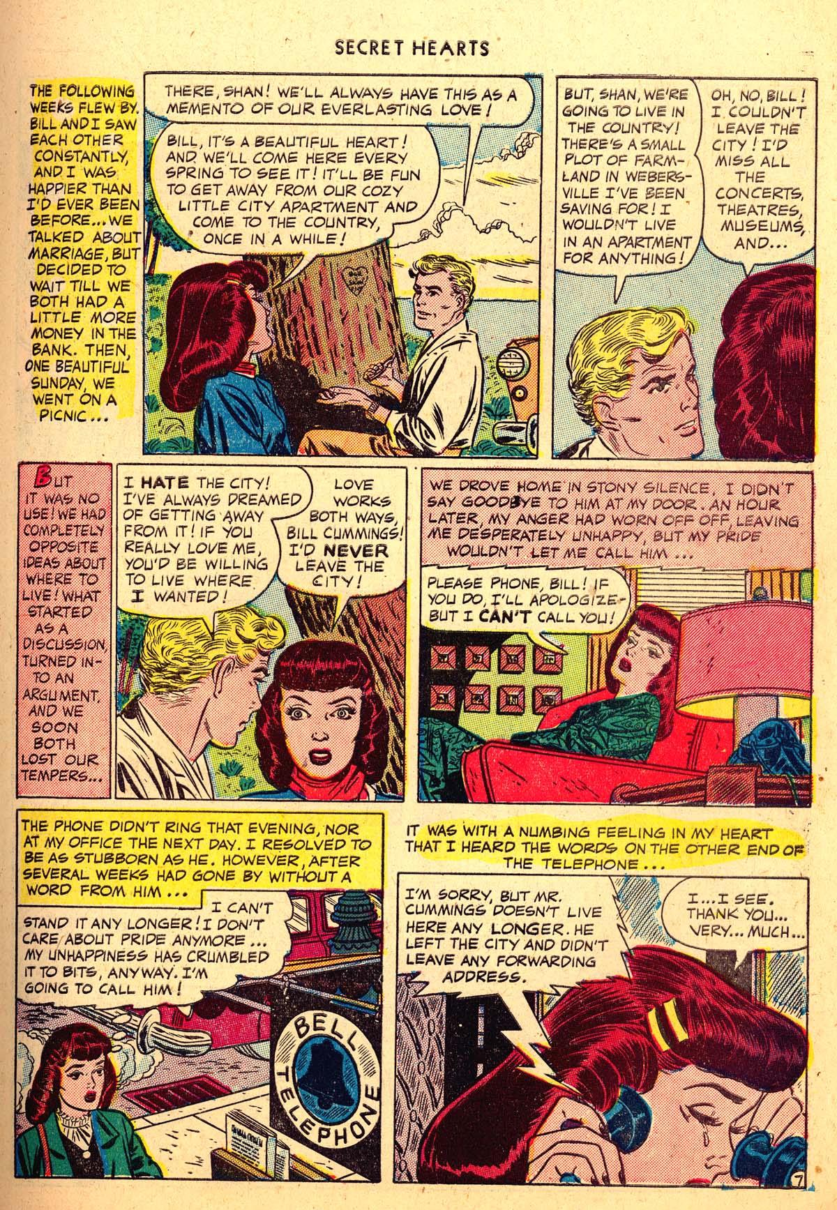 Read online Secret Hearts comic -  Issue #4 - 9