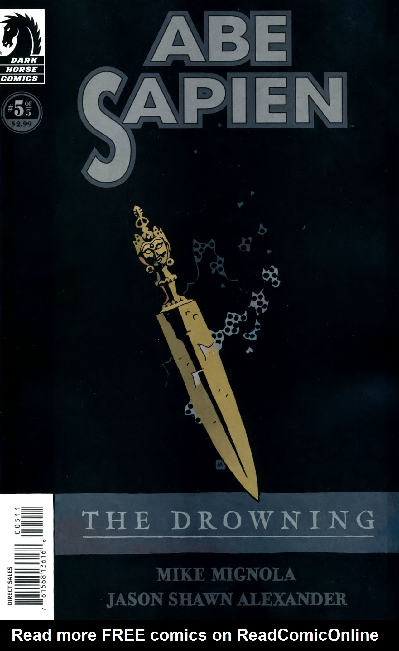 Abe Sapien: The Drowning 5 Page 1