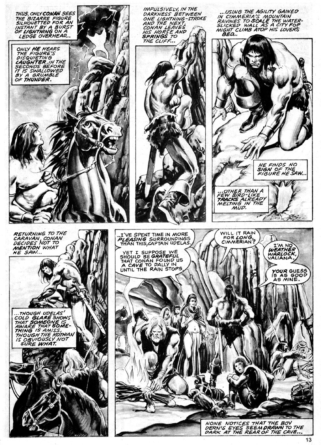 The Savage Sword Of Conan Issue #69 #70 - English 13