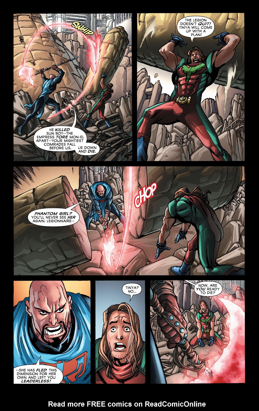 Legion of Super-Heroes (2011) Issue #21 #22 - English 7