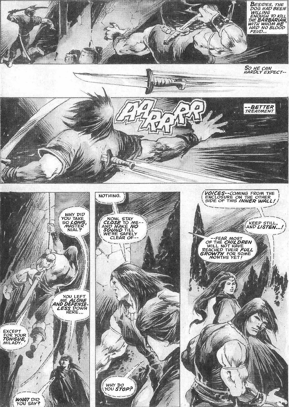 The Savage Sword Of Conan Issue #209 #210 - English 35