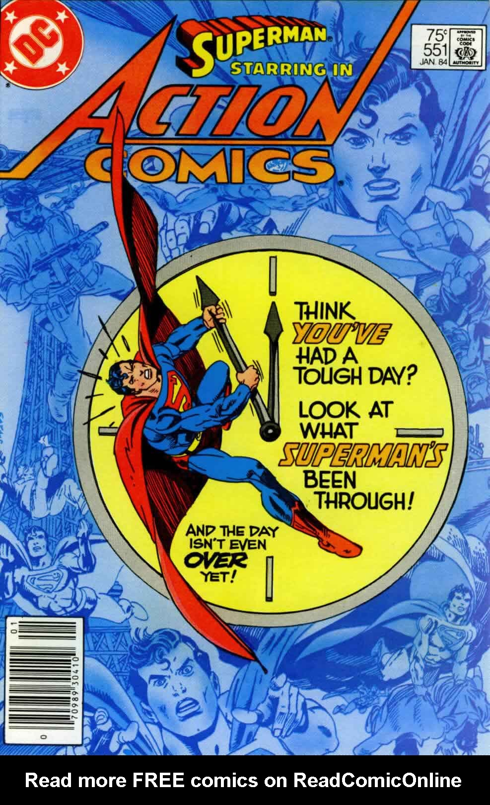 Action Comics (1938) 551 Page 1