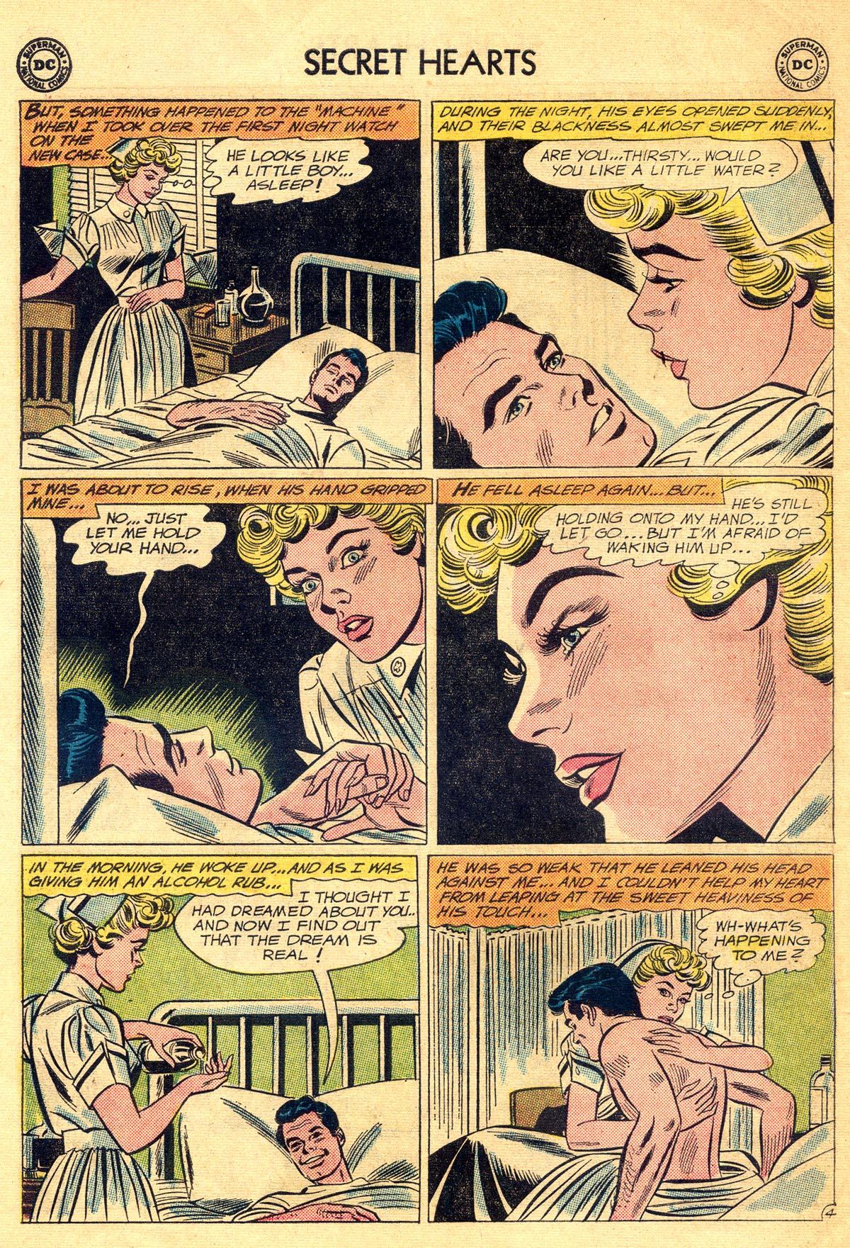 Read online Secret Hearts comic -  Issue #81 - 30