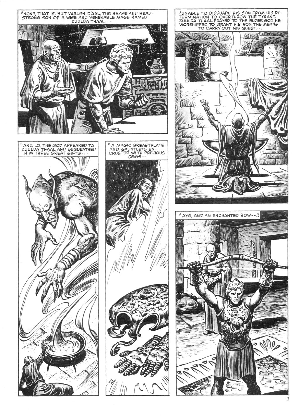 The Savage Sword Of Conan Issue #87 #88 - English 9
