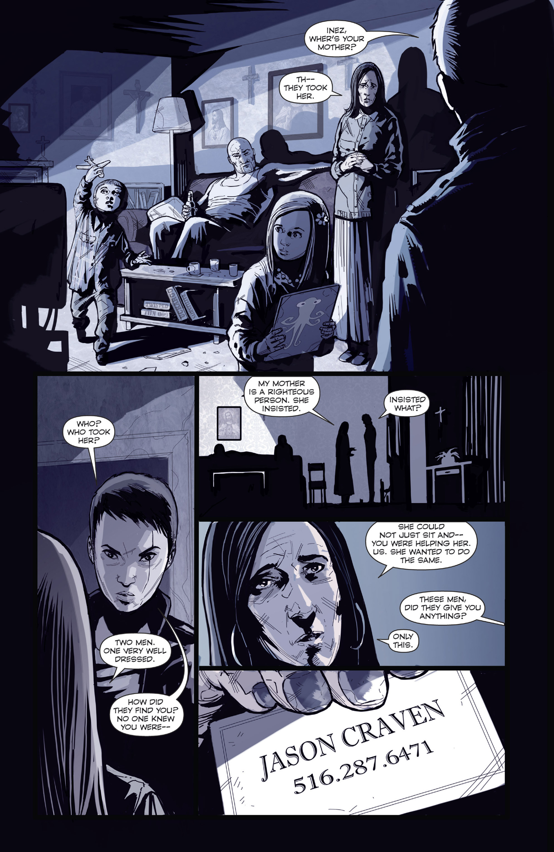 Read online Harvest comic -  Issue #4 - 19