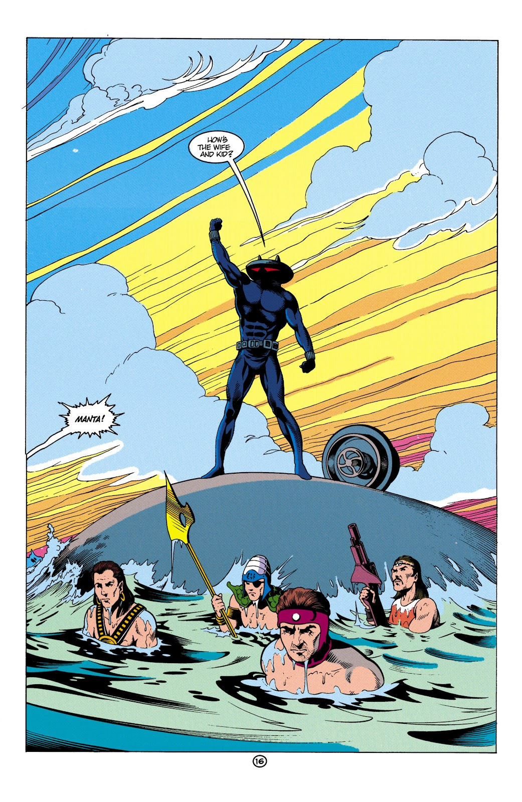 Aquaman (1991) Issue #5 #5 - English 17