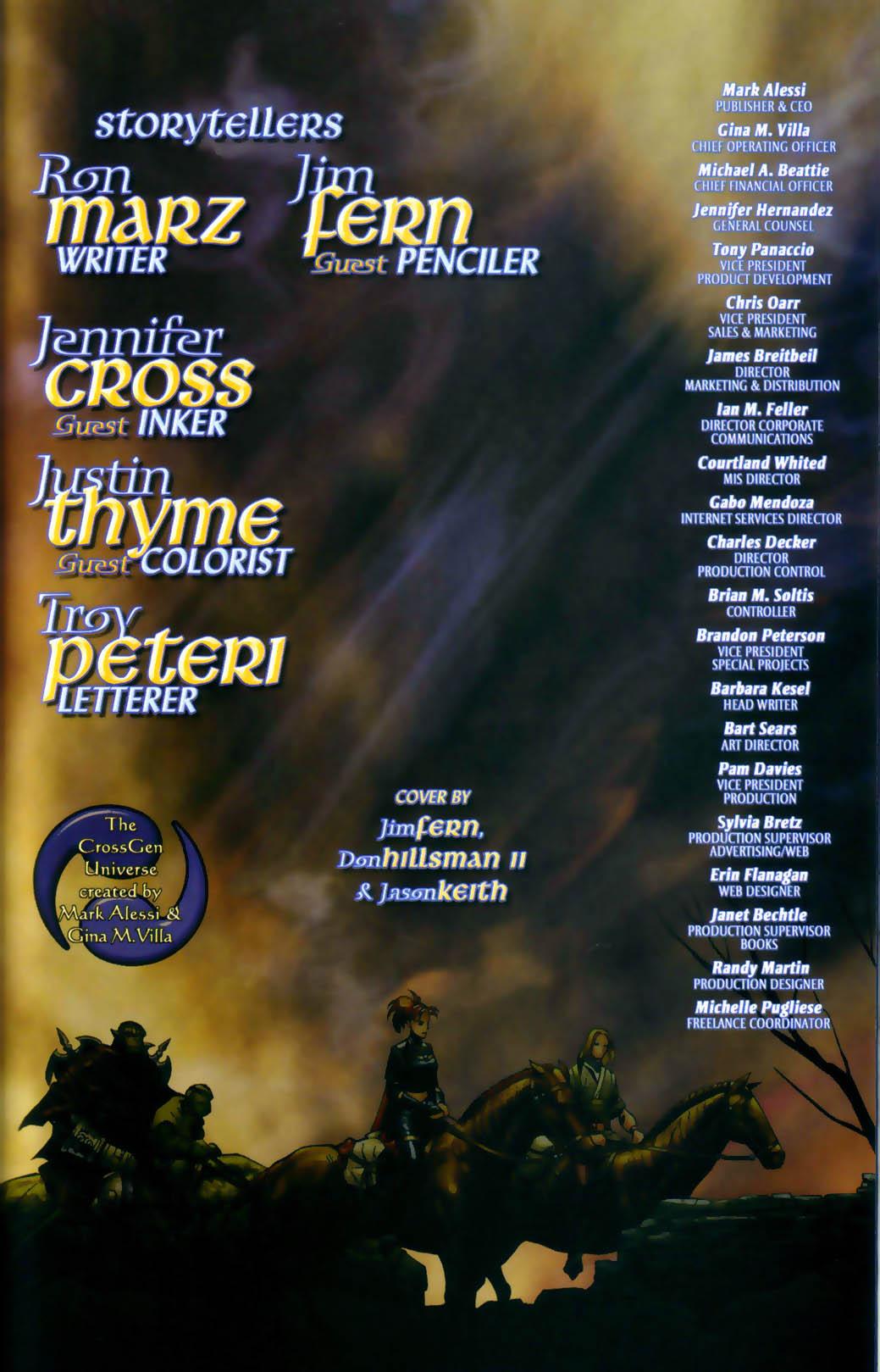 Read online Scion comic -  Issue #30 - 25