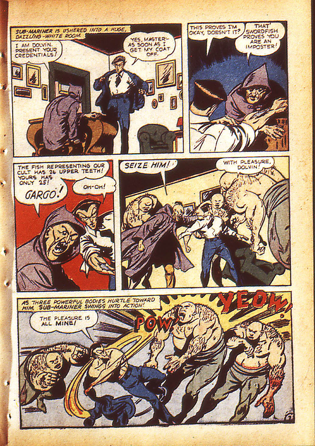 Sub-Mariner Comics Issue #10 #10 - English 10