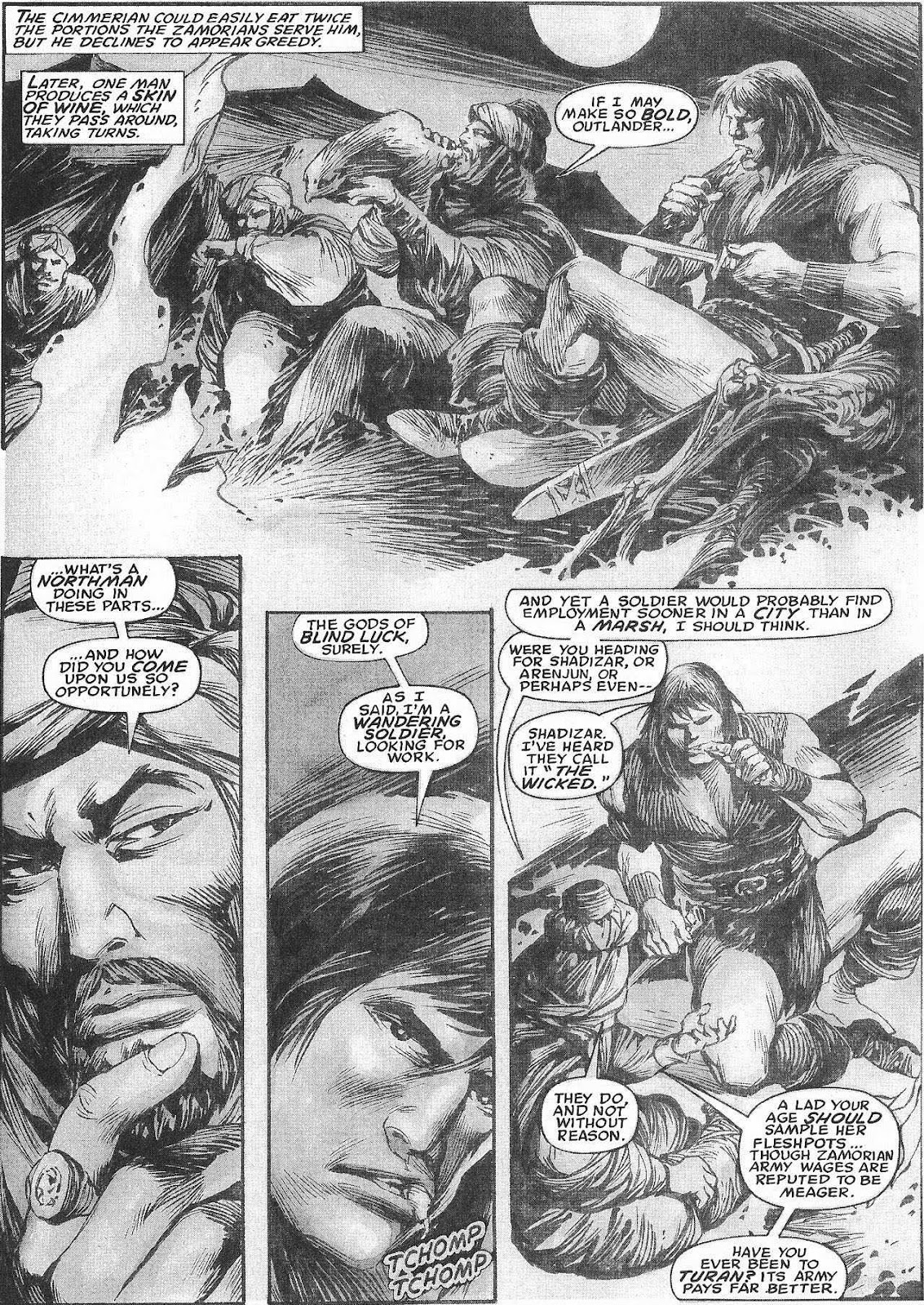 The Savage Sword Of Conan Issue #207 #208 - English 17