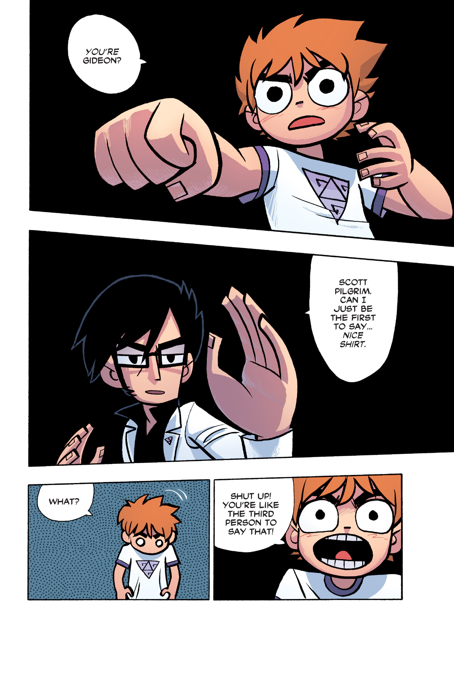 Read online Scott Pilgrim comic -  Issue #6 - 117