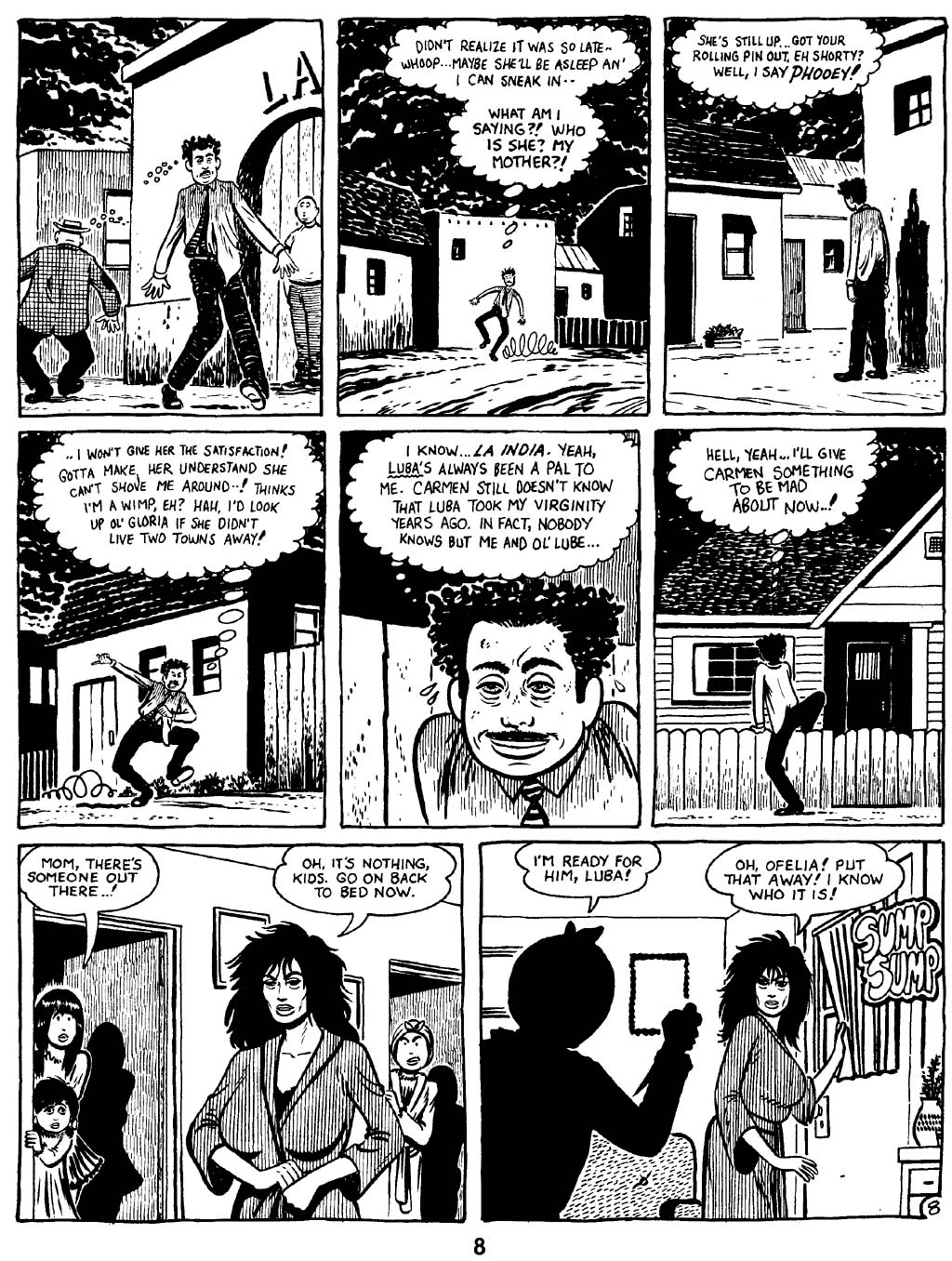 Love and Rockets (1982) Issue #16 #15 - English 10