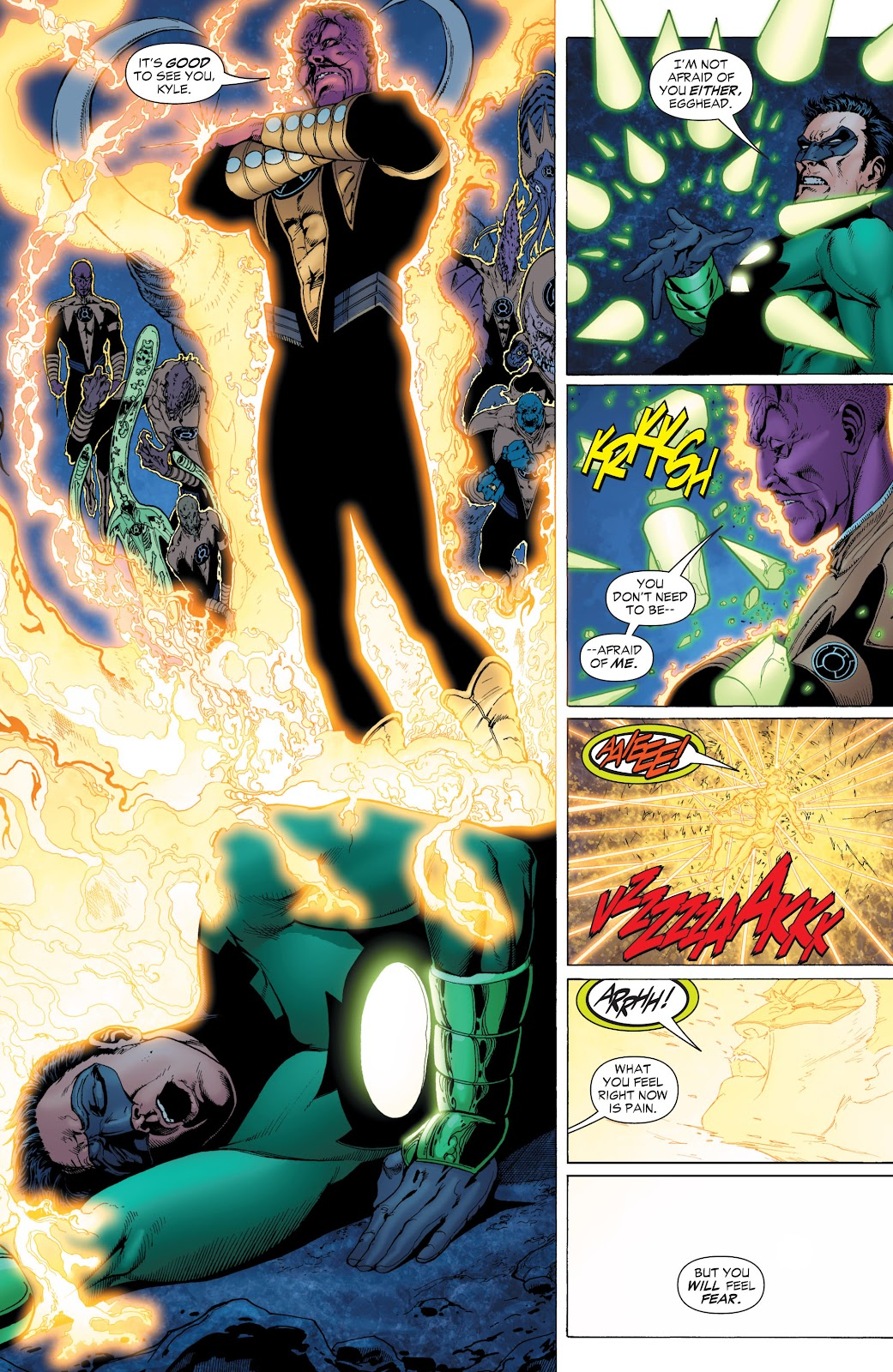 Green Lantern: The Sinestro Corps War Full #1 - English 37