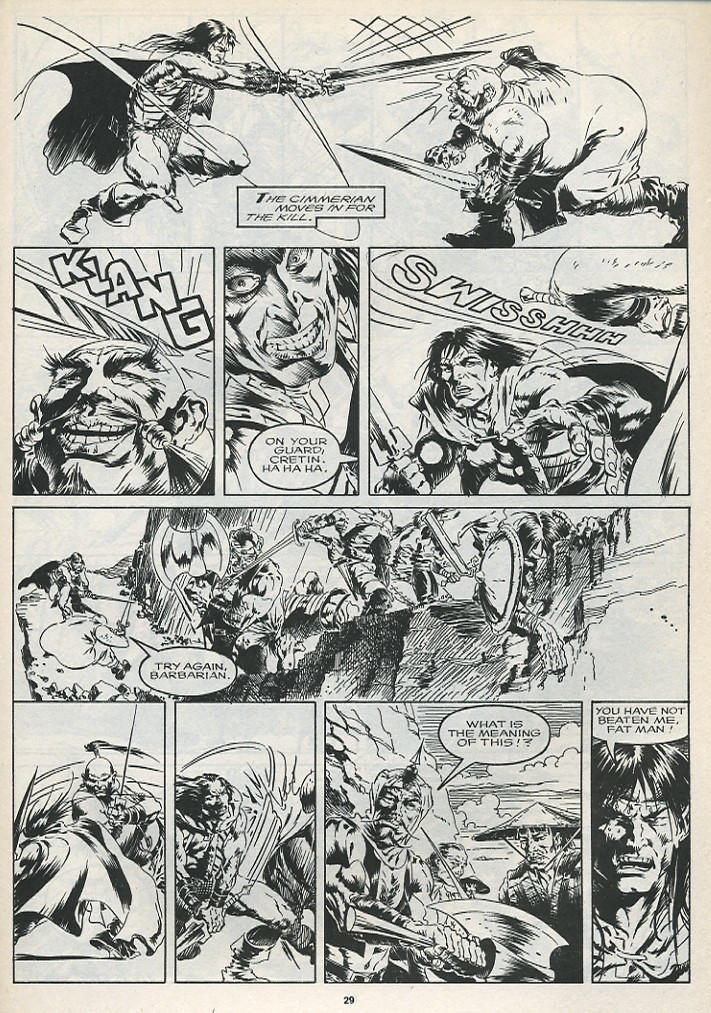 The Savage Sword Of Conan Issue #175 #176 - English 31