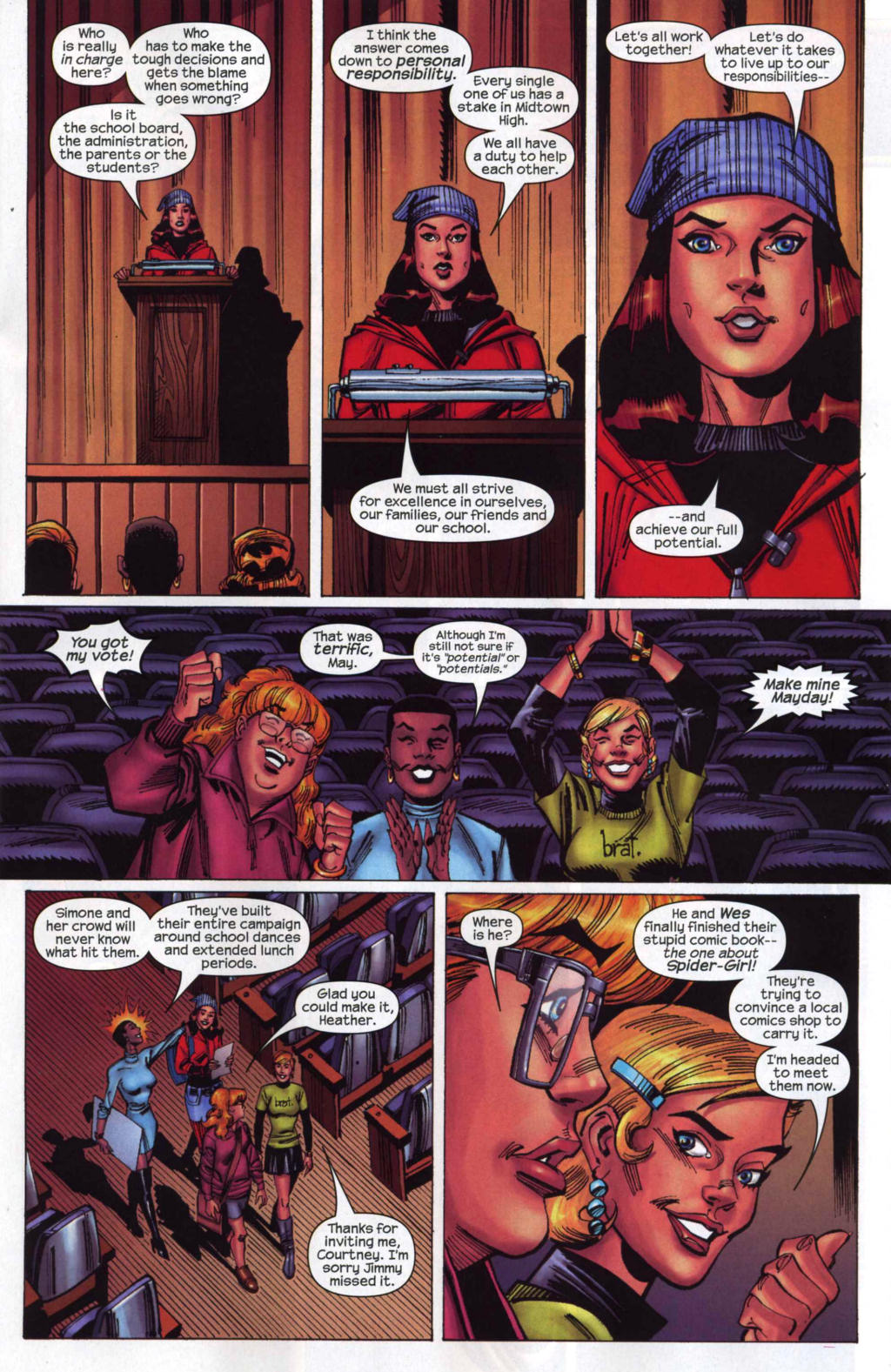Amazing Spider-Girl Issue #4 #5 - English 11
