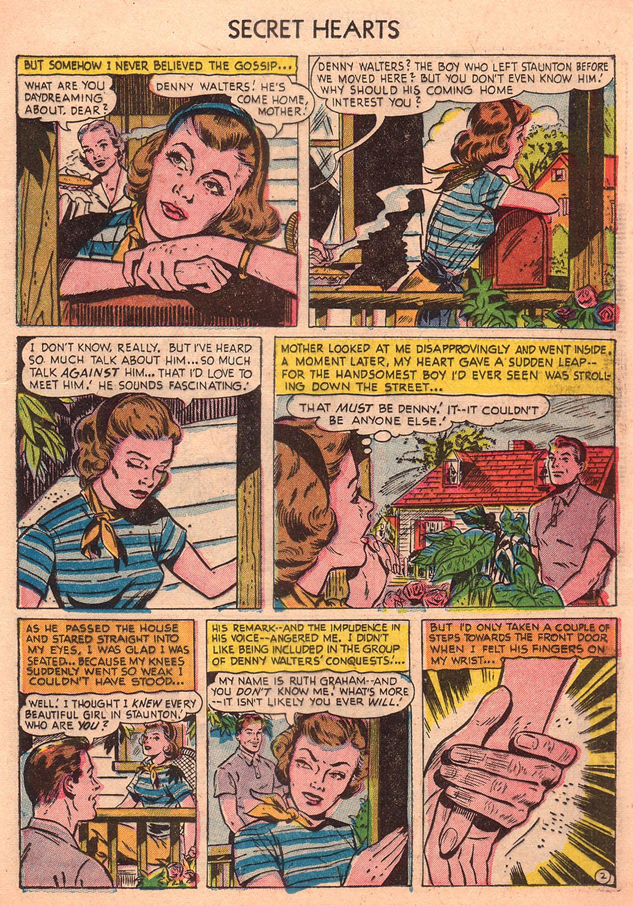 Read online Secret Hearts comic -  Issue #23 - 17