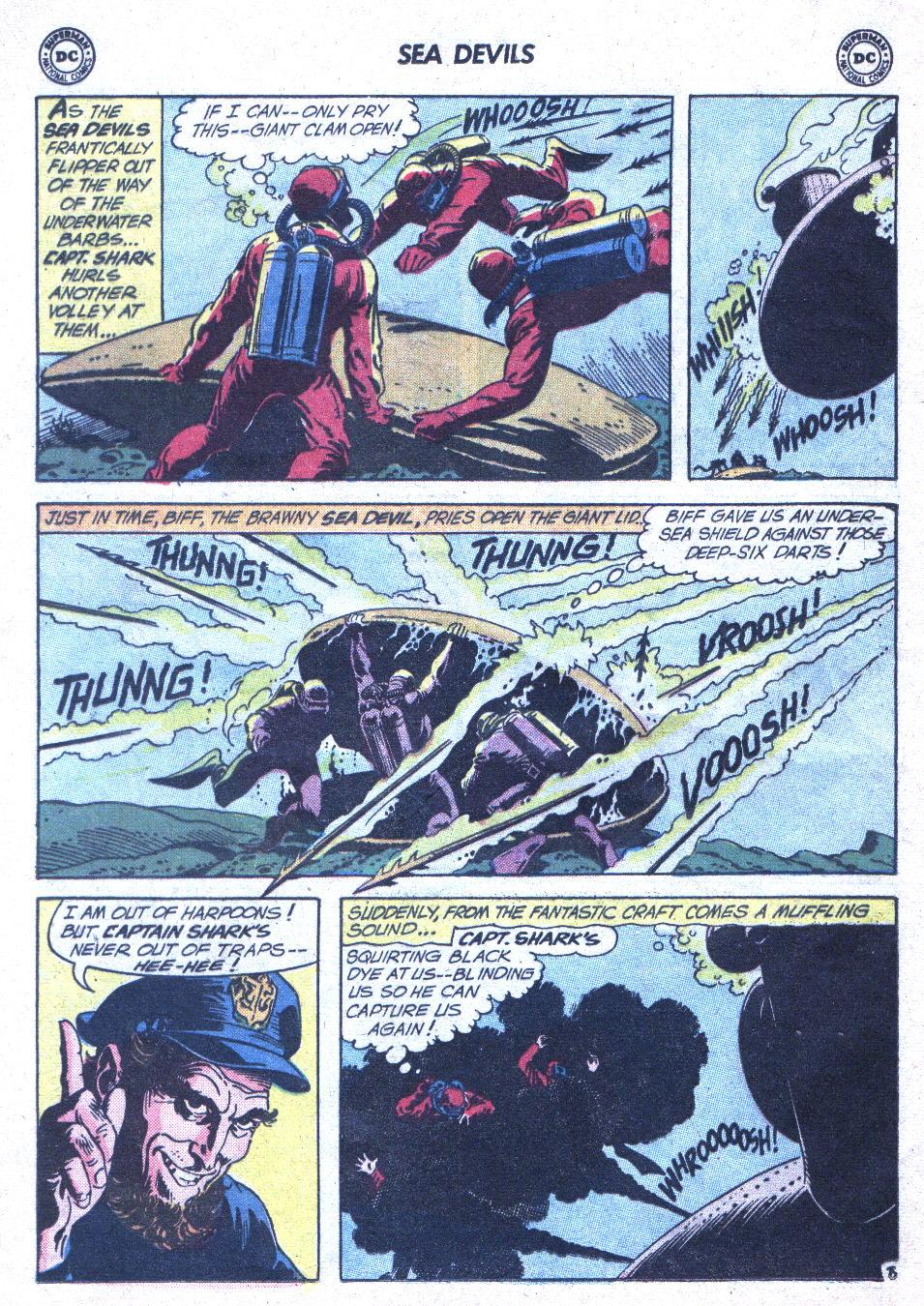 Read online Sea Devils comic -  Issue #1 - 29
