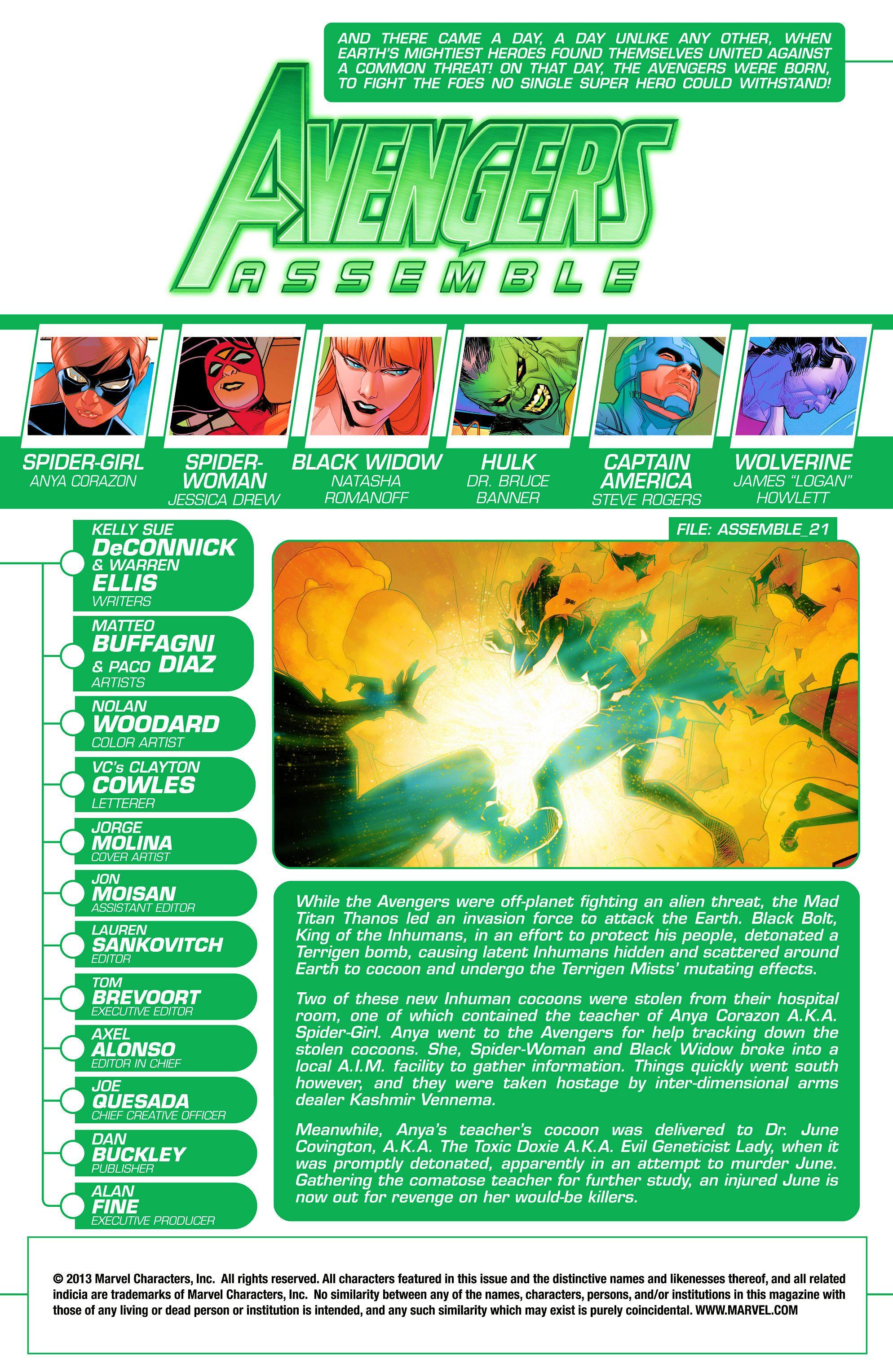 Read online Avengers Assemble (2012) comic -  Issue #22 - 2