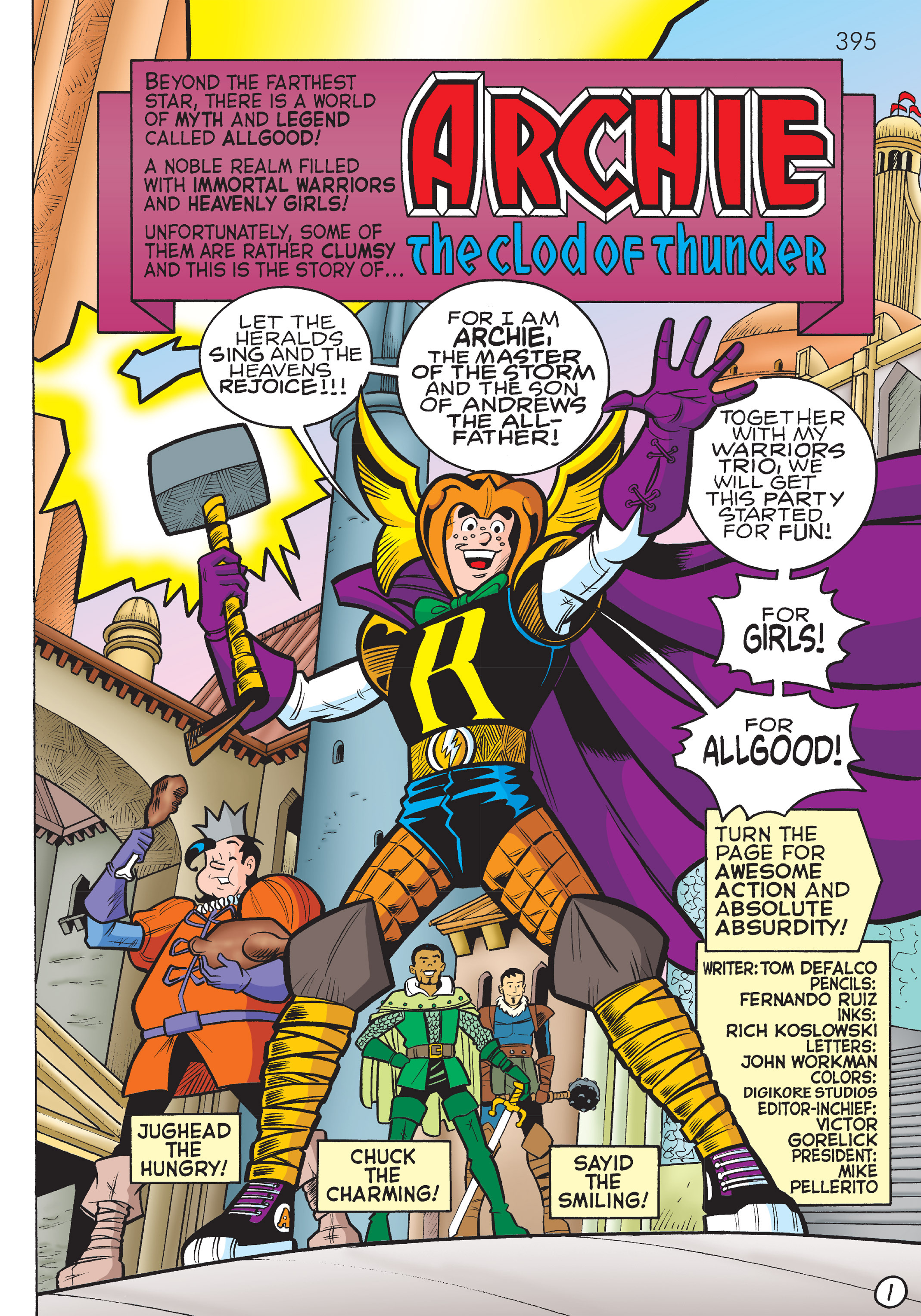 Read online The Best of Archie Comics comic -  Issue # TPB 4 (Part 2) - 185