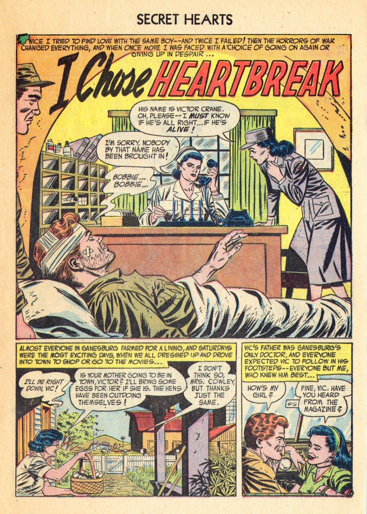 Read online Secret Hearts comic -  Issue #18 - 17