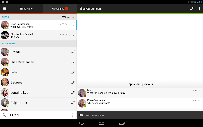 تطبيق imo instant messenger v 3.8.4 بصيغة apk
