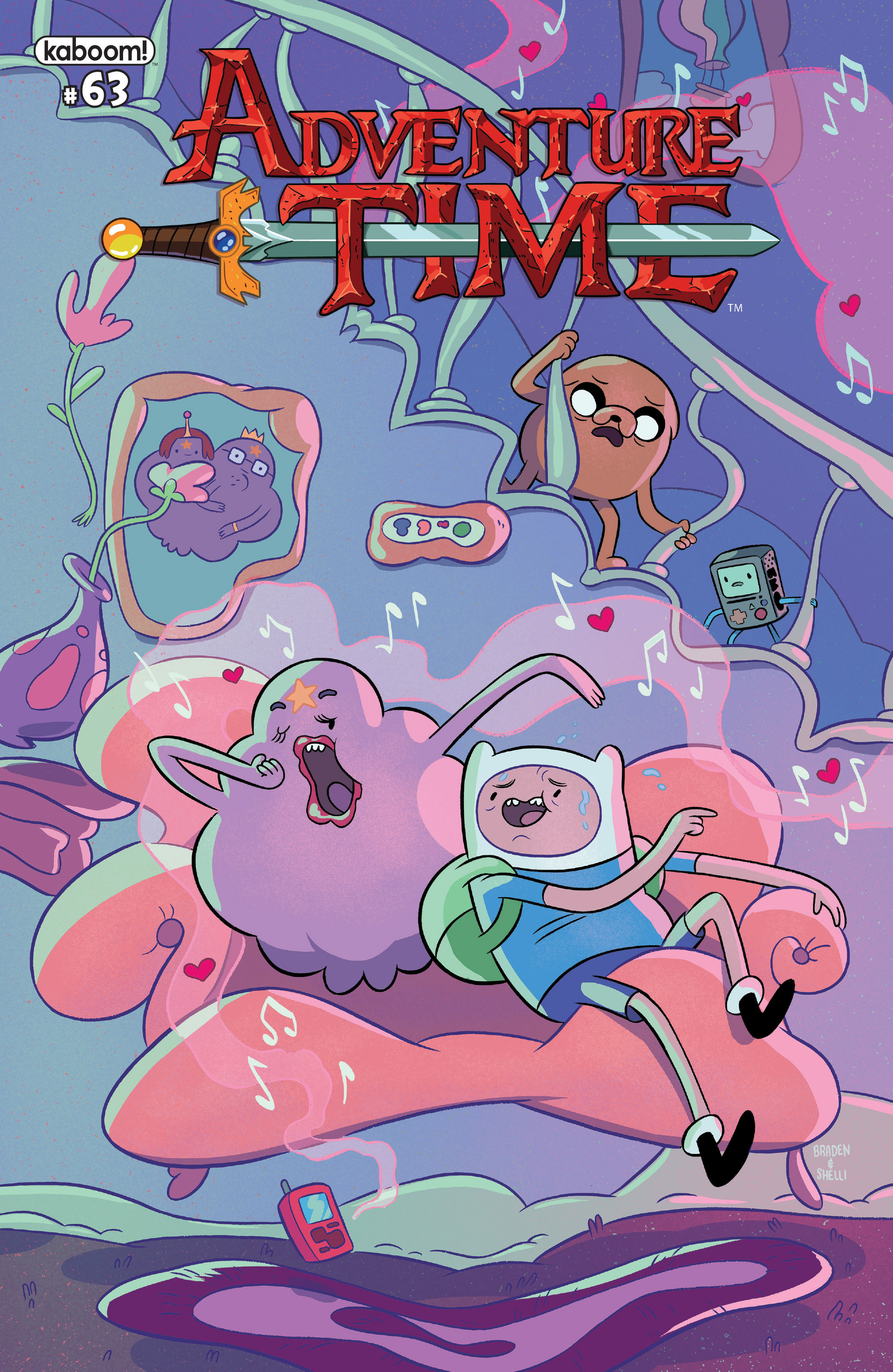 Adventure Time 63 Page 1