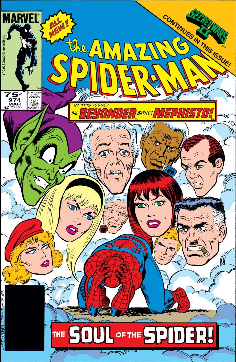 The Amazing Spider-Man (1963) 274 Page 1