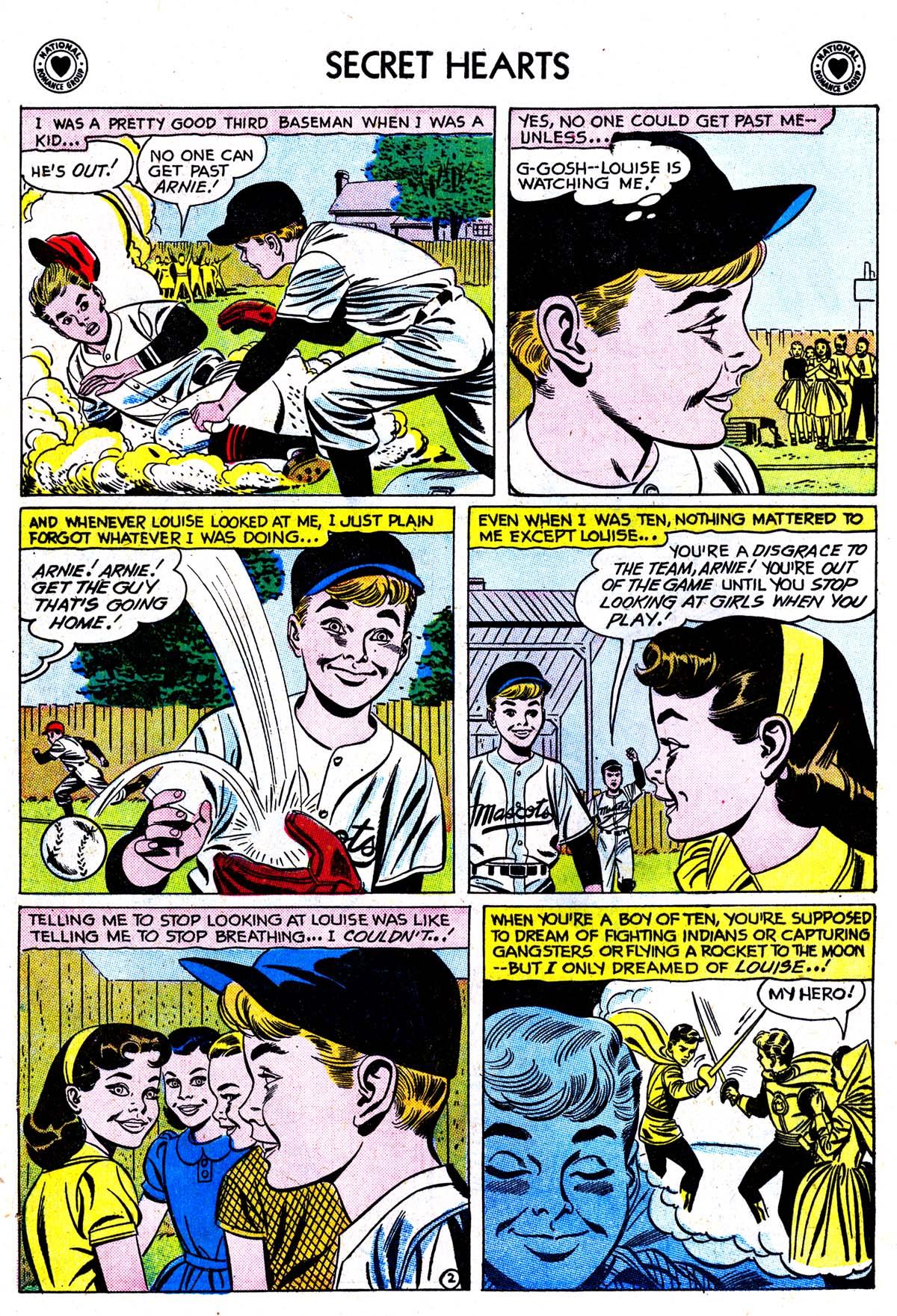 Read online Secret Hearts comic -  Issue #42 - 28