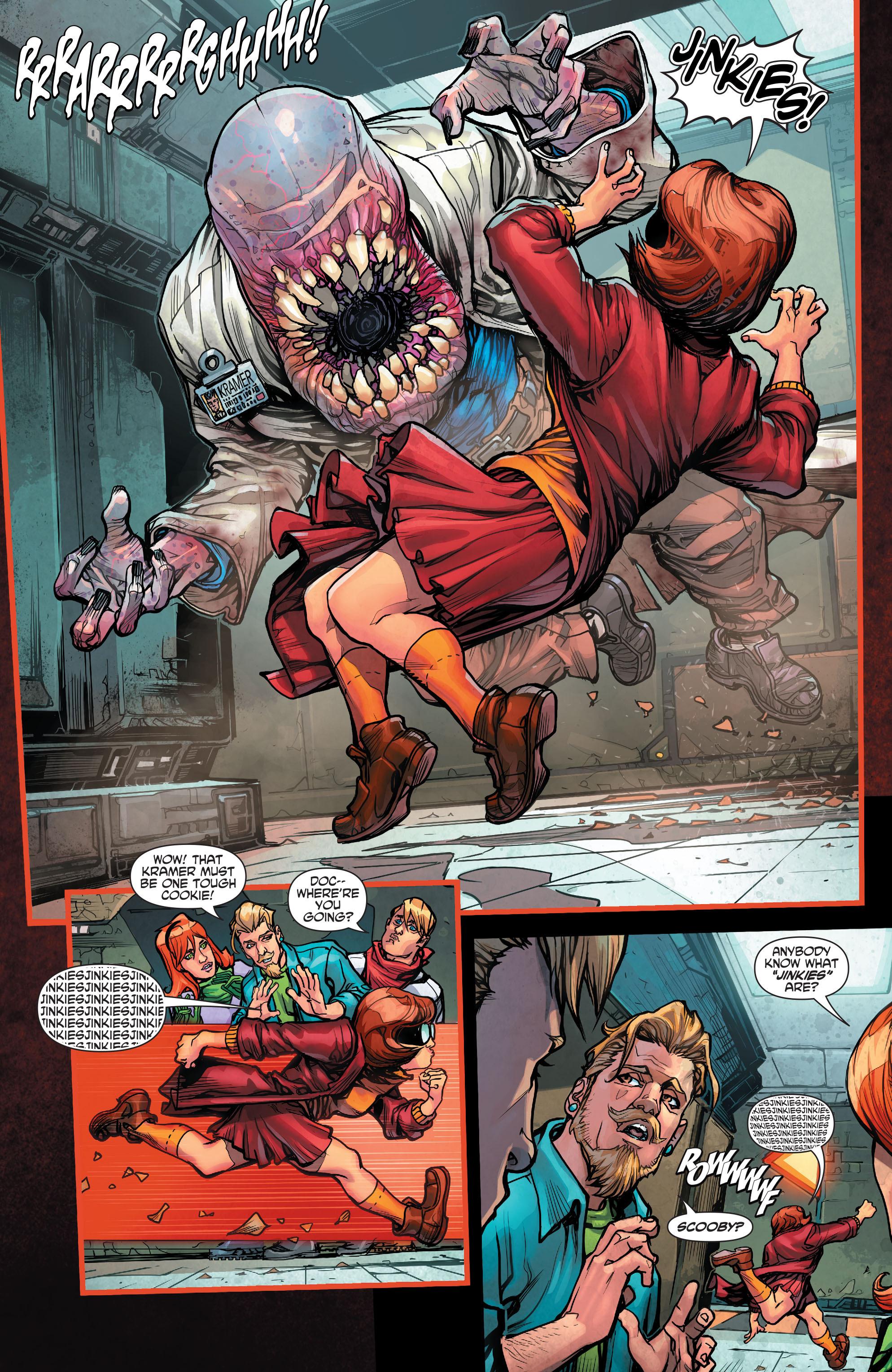 Read online Scooby Apocalypse comic -  Issue #2 - 8
