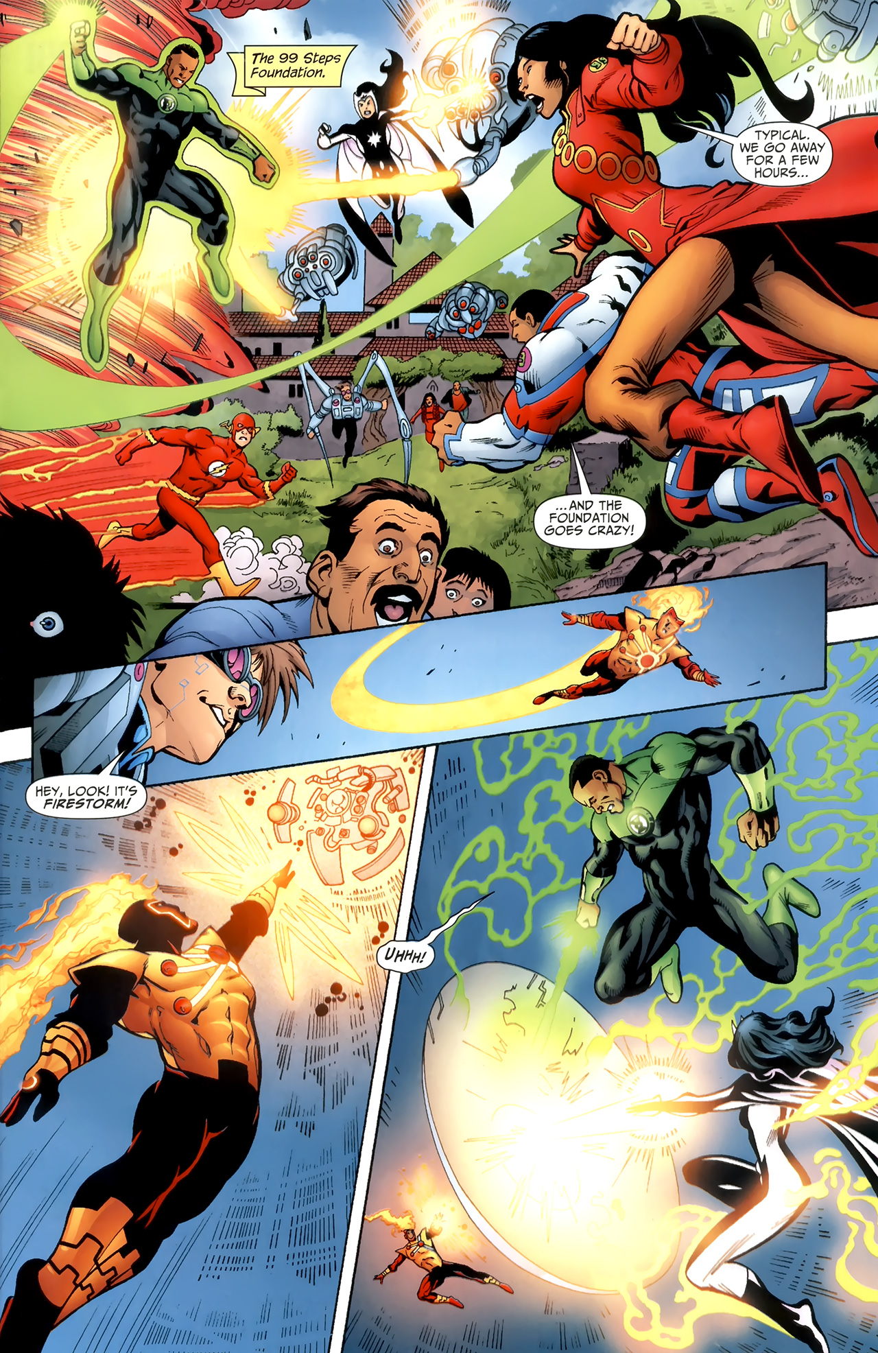 Read online Justice League of America/The 99 comic -  Issue #3 - 19