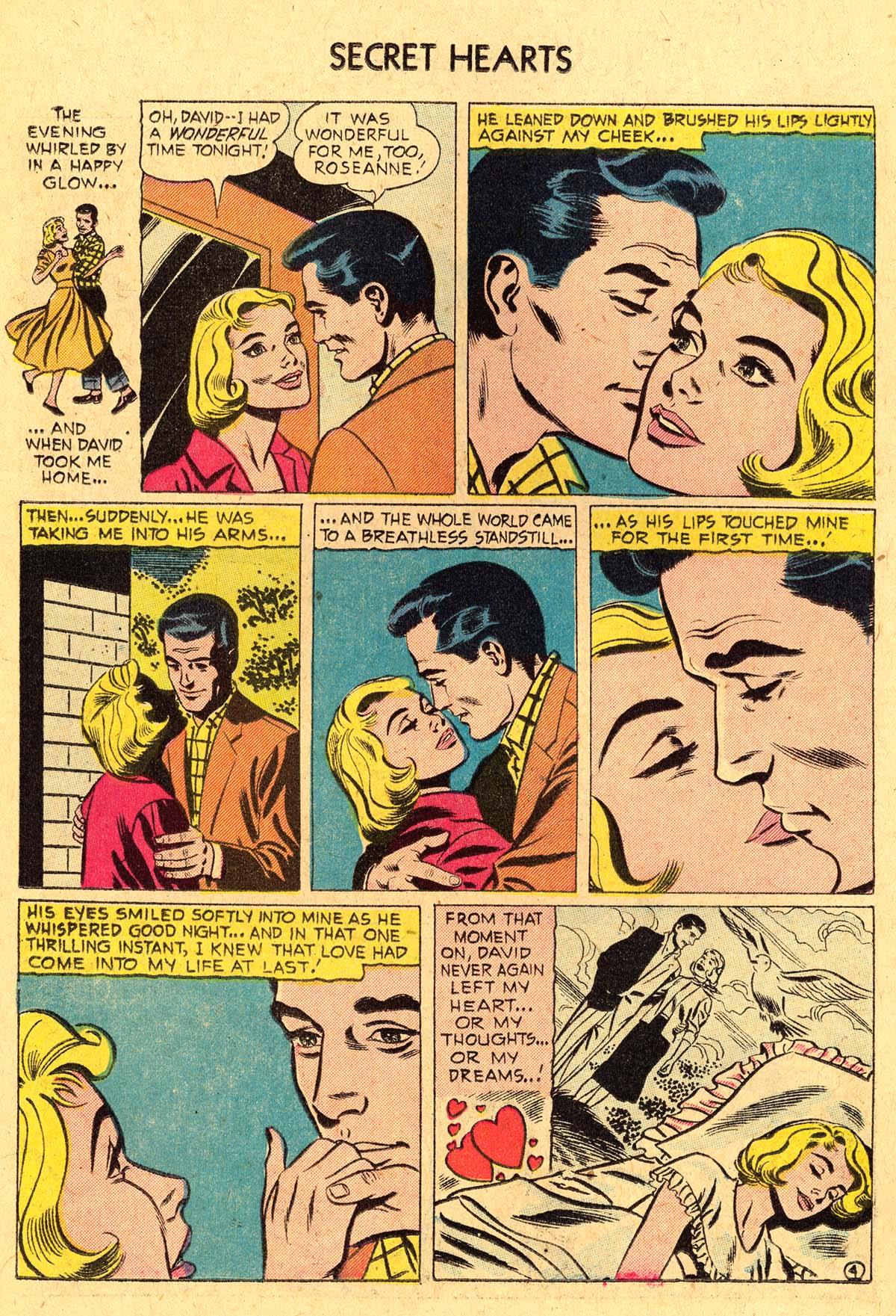 Read online Secret Hearts comic -  Issue #36 - 22