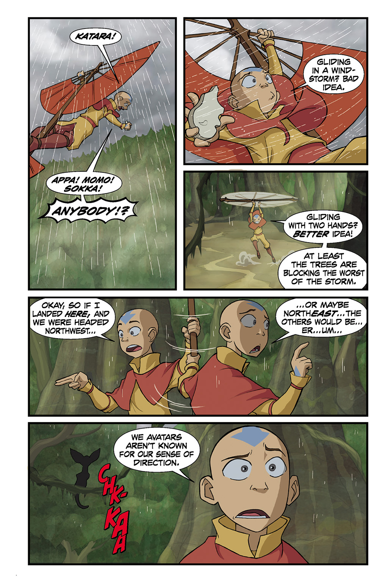 Nickelodeon Avatar: The Last Airbender - The Lost Adventures chap full pic 62