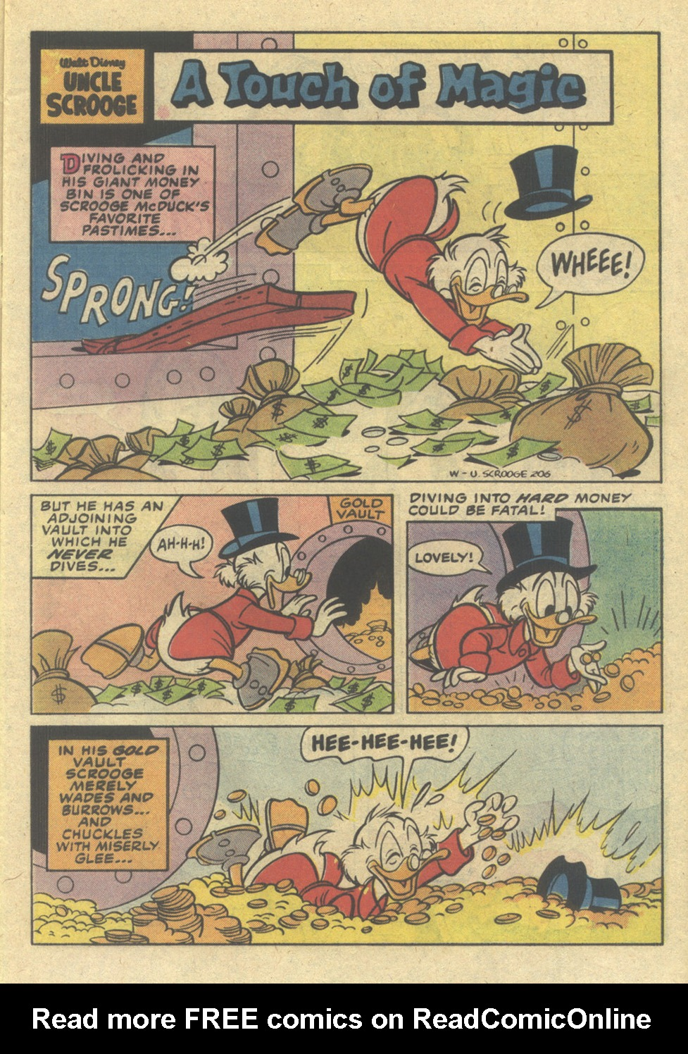 Uncle Scrooge (1953) Issue #206 #206 - English 13