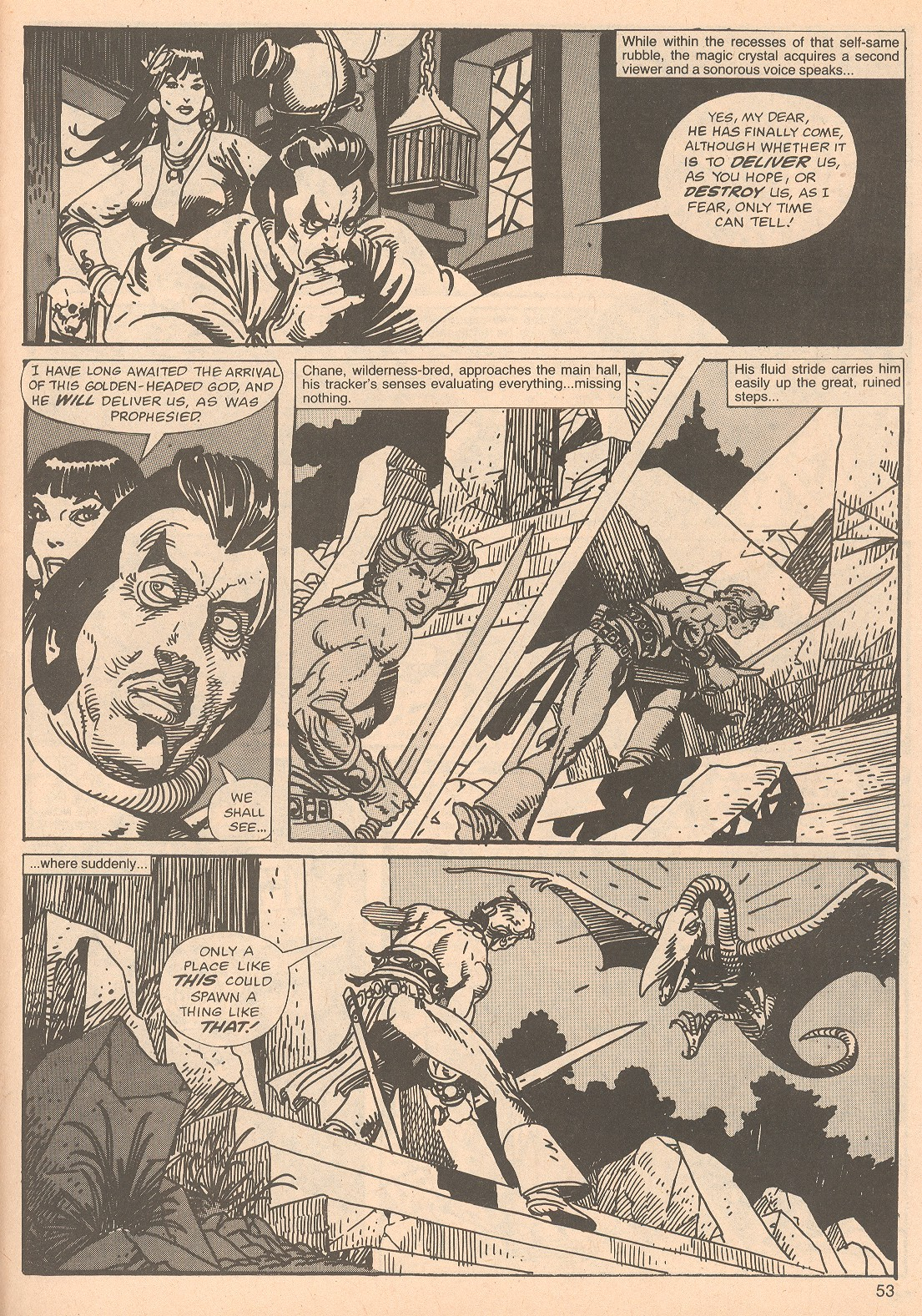 The Savage Sword Of Conan Issue #67 #68 - English 53