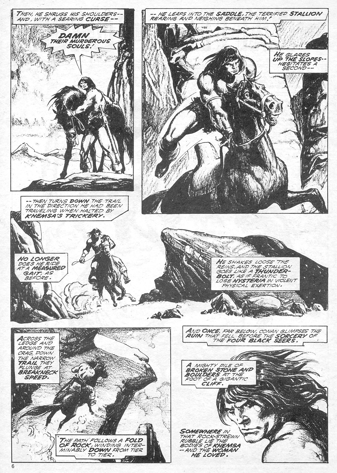 The Savage Sword Of Conan Issue #18 #19 - English 6