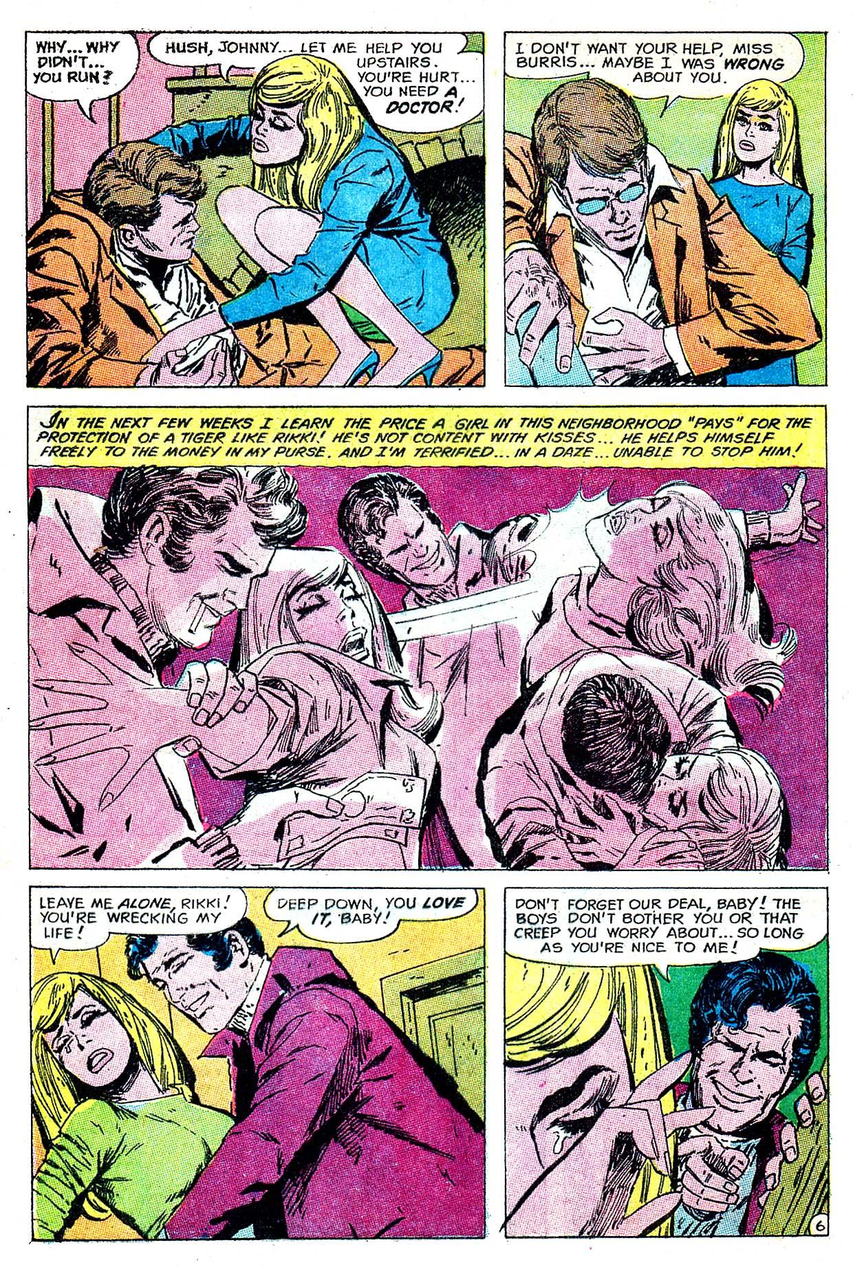 Read online Secret Hearts comic -  Issue #135 - 8