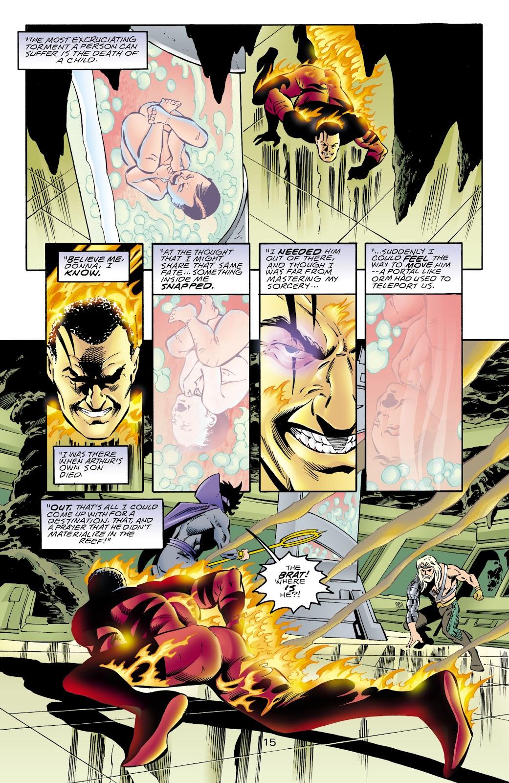 Aquaman (1994) Issue #68 #74 - English 16