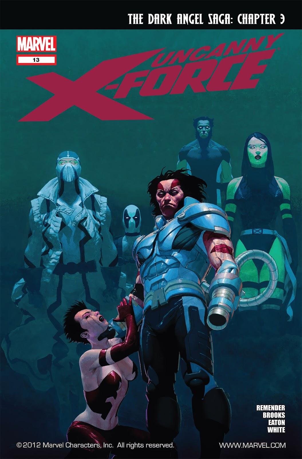 Uncanny X-Force (2010) Issue #13 #14 - English 1