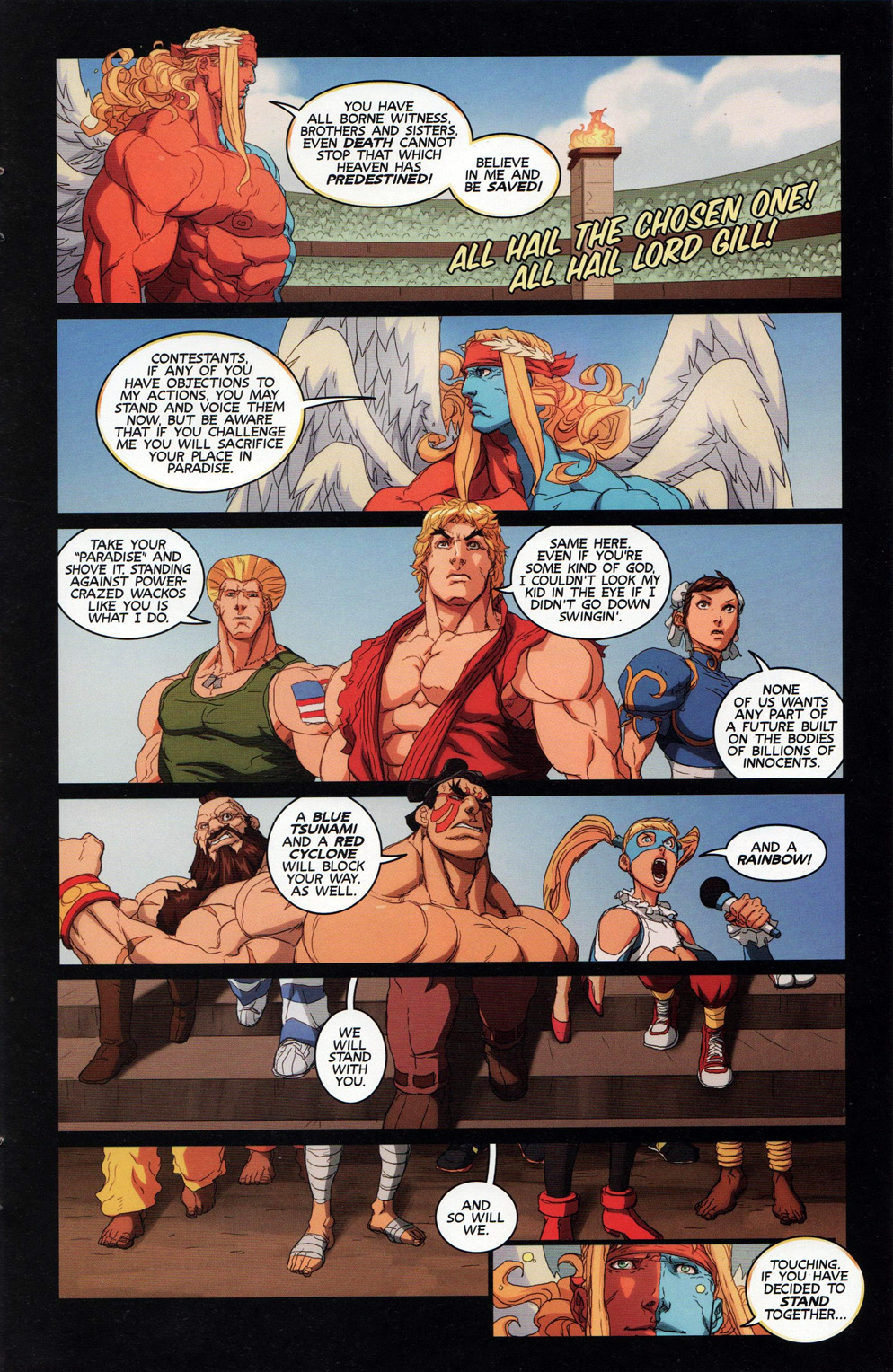Street Fighter Unlimited Issue #10 #12 - English 21