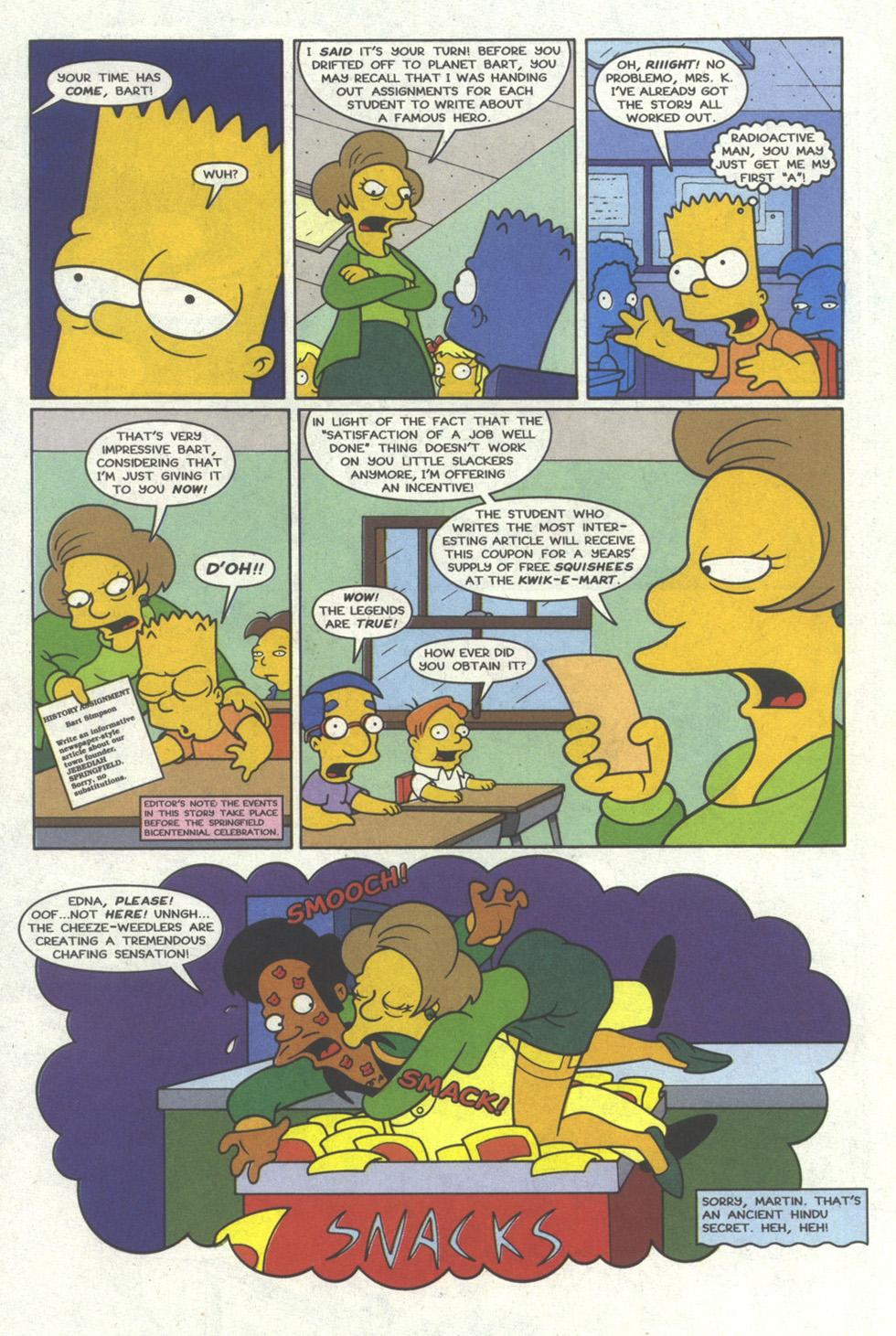 Read online Simpsons Comics comic -  Issue #19 - 5
