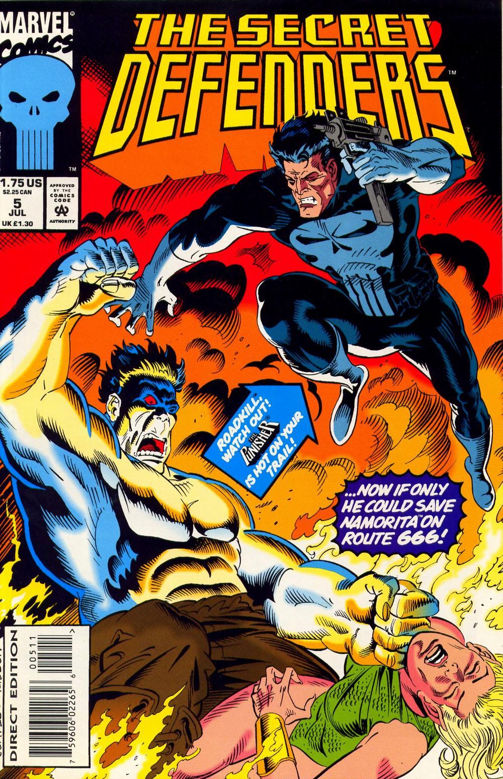 Read online Secret Defenders comic -  Issue #5 - 1