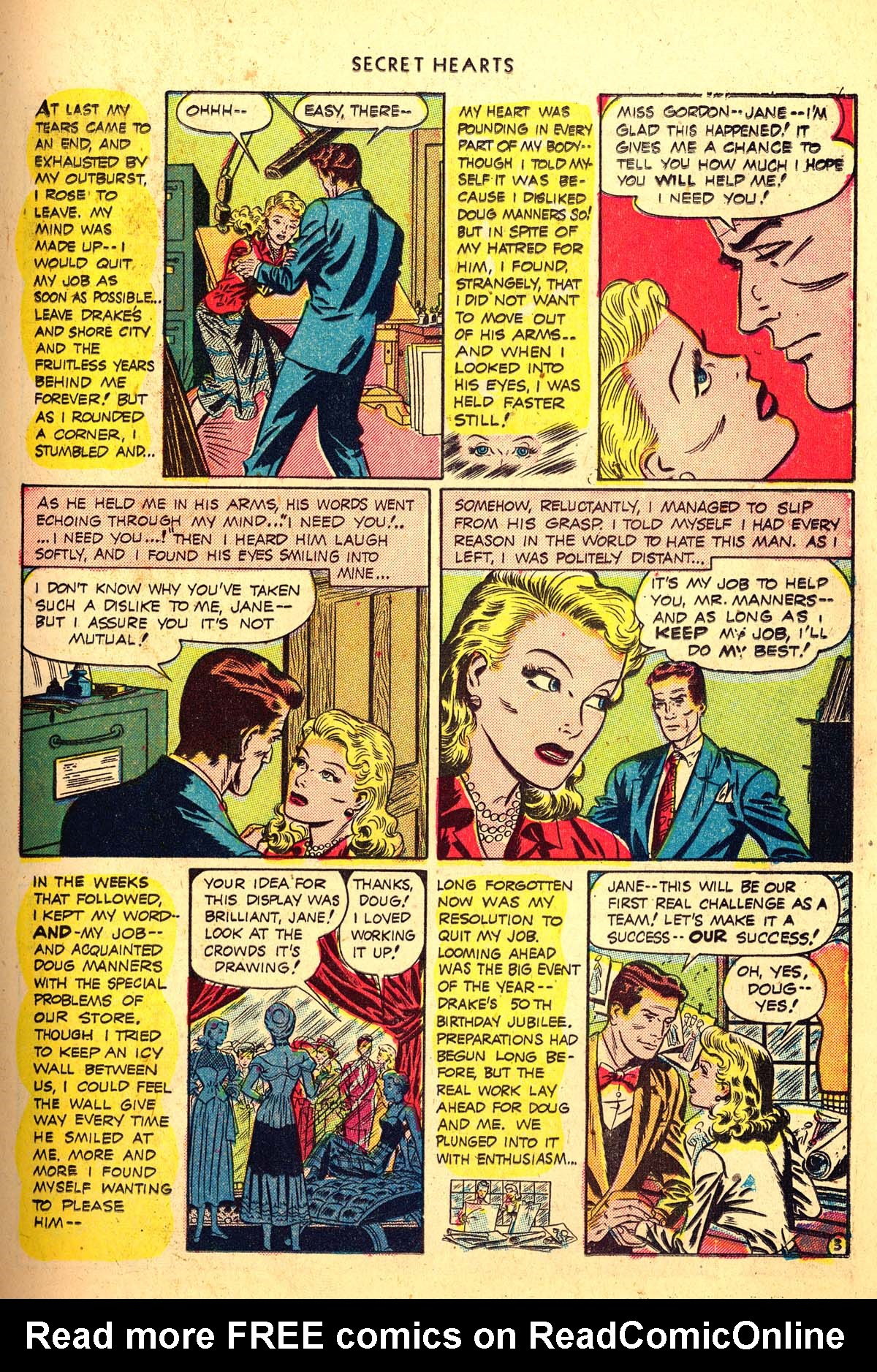 Read online Secret Hearts comic -  Issue #4 - 15