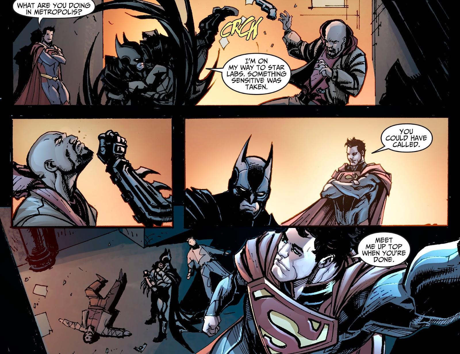 Injustice: Gods Among Us [I] Issue #1 #2 - English 14