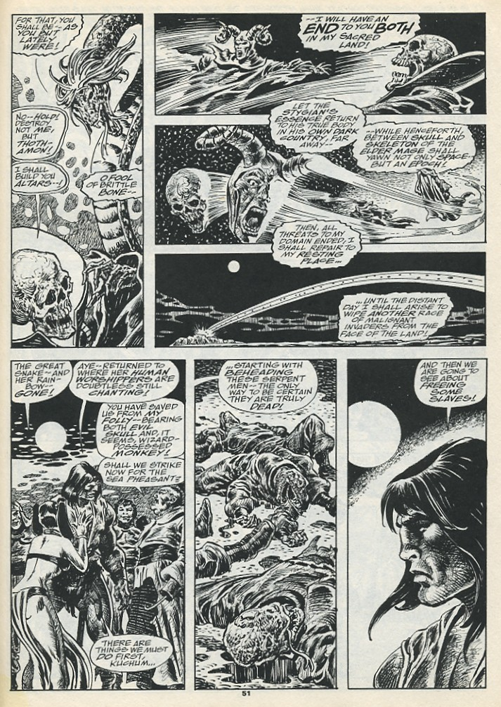 The Savage Sword Of Conan Issue #193 #194 - English 53