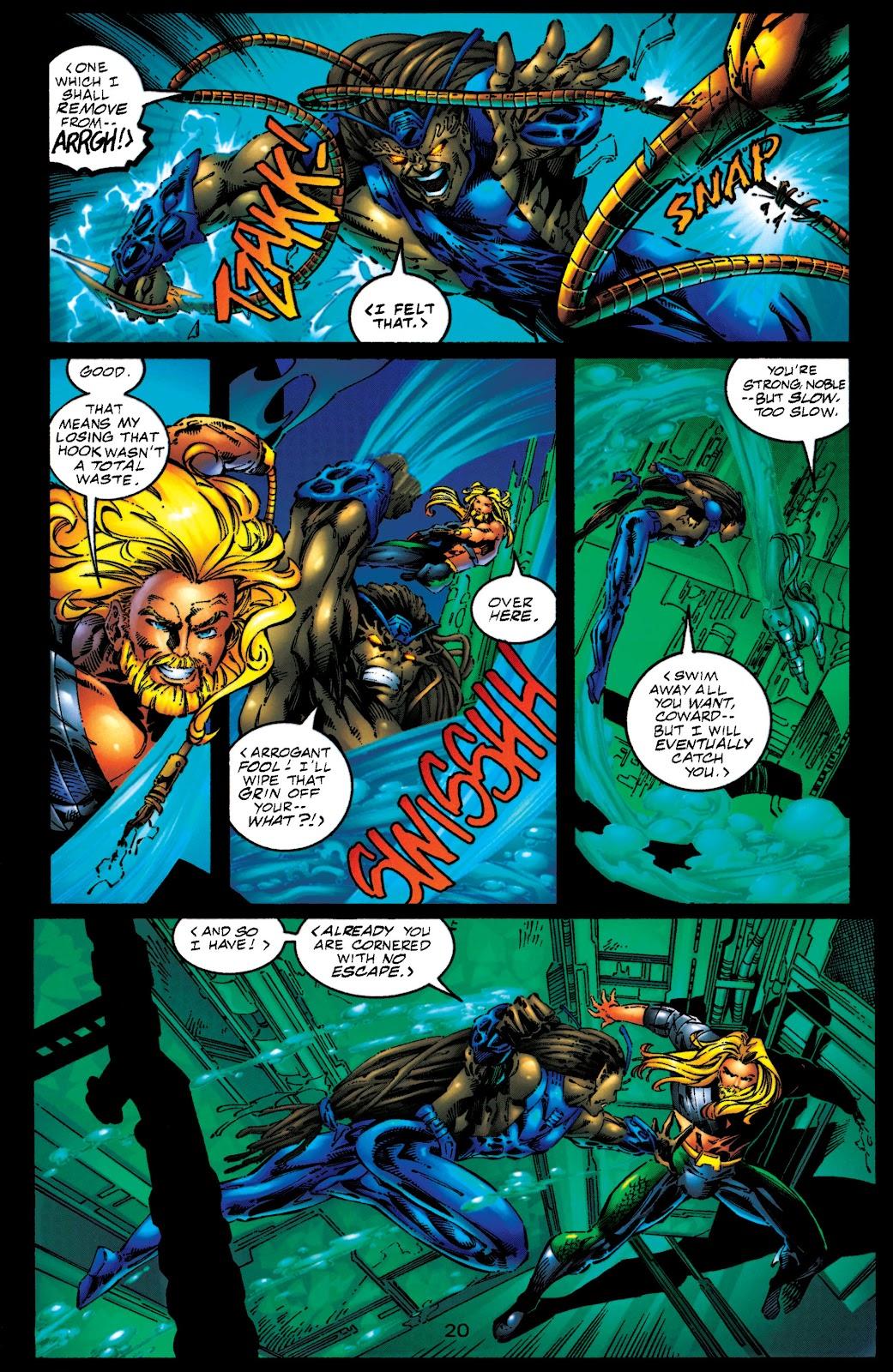 Aquaman (1994) Issue #50 #56 - English 19
