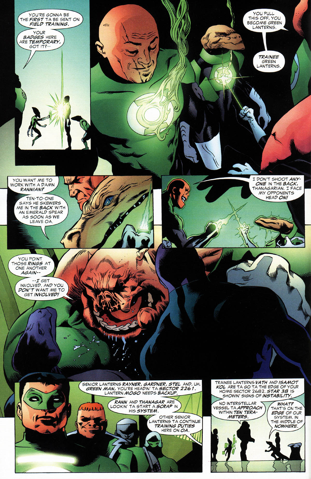 Read online Green Lantern Corps: Recharge comic -  Issue #2 - 5