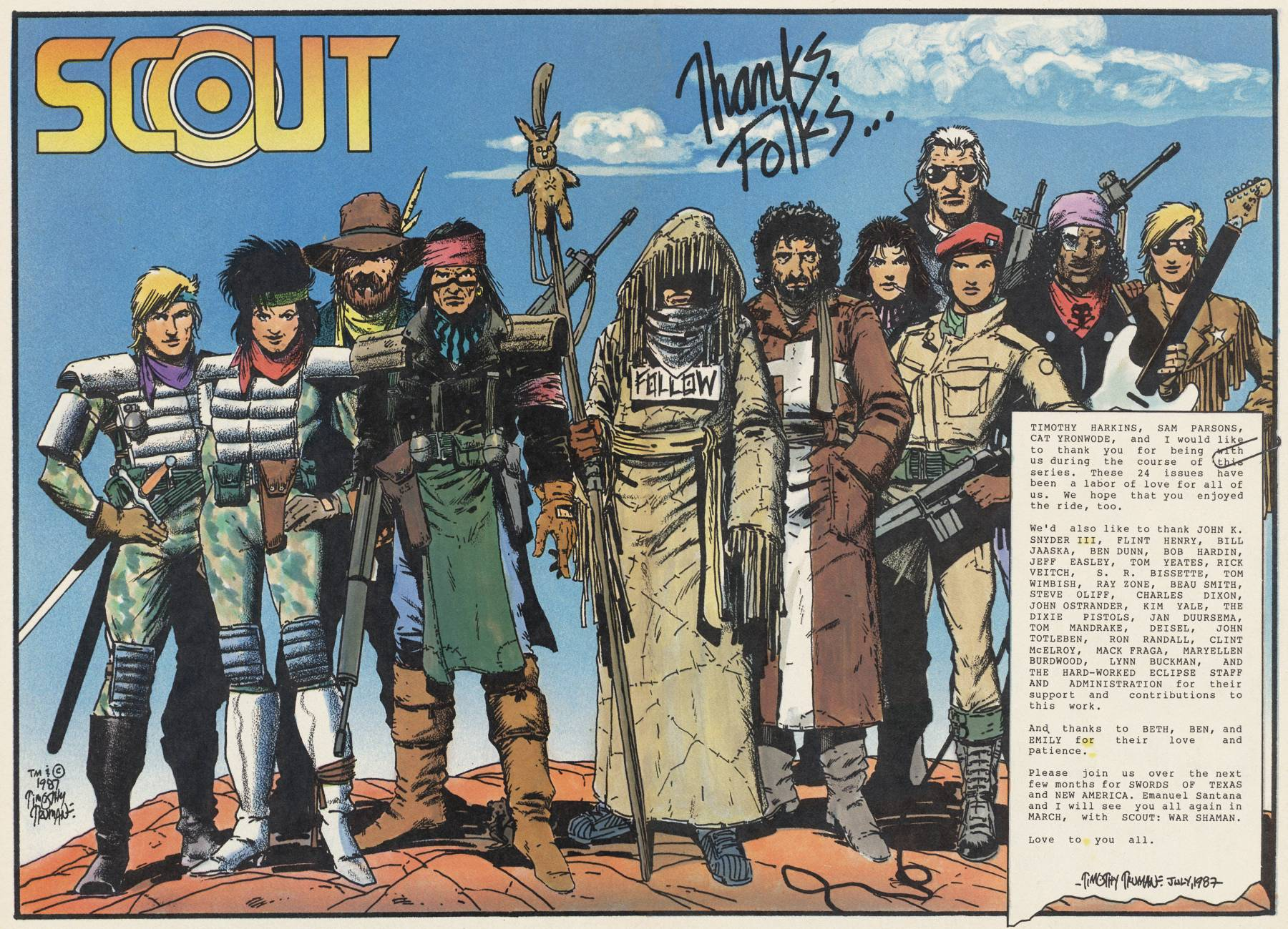 Read online Scout comic -  Issue #24 - 27