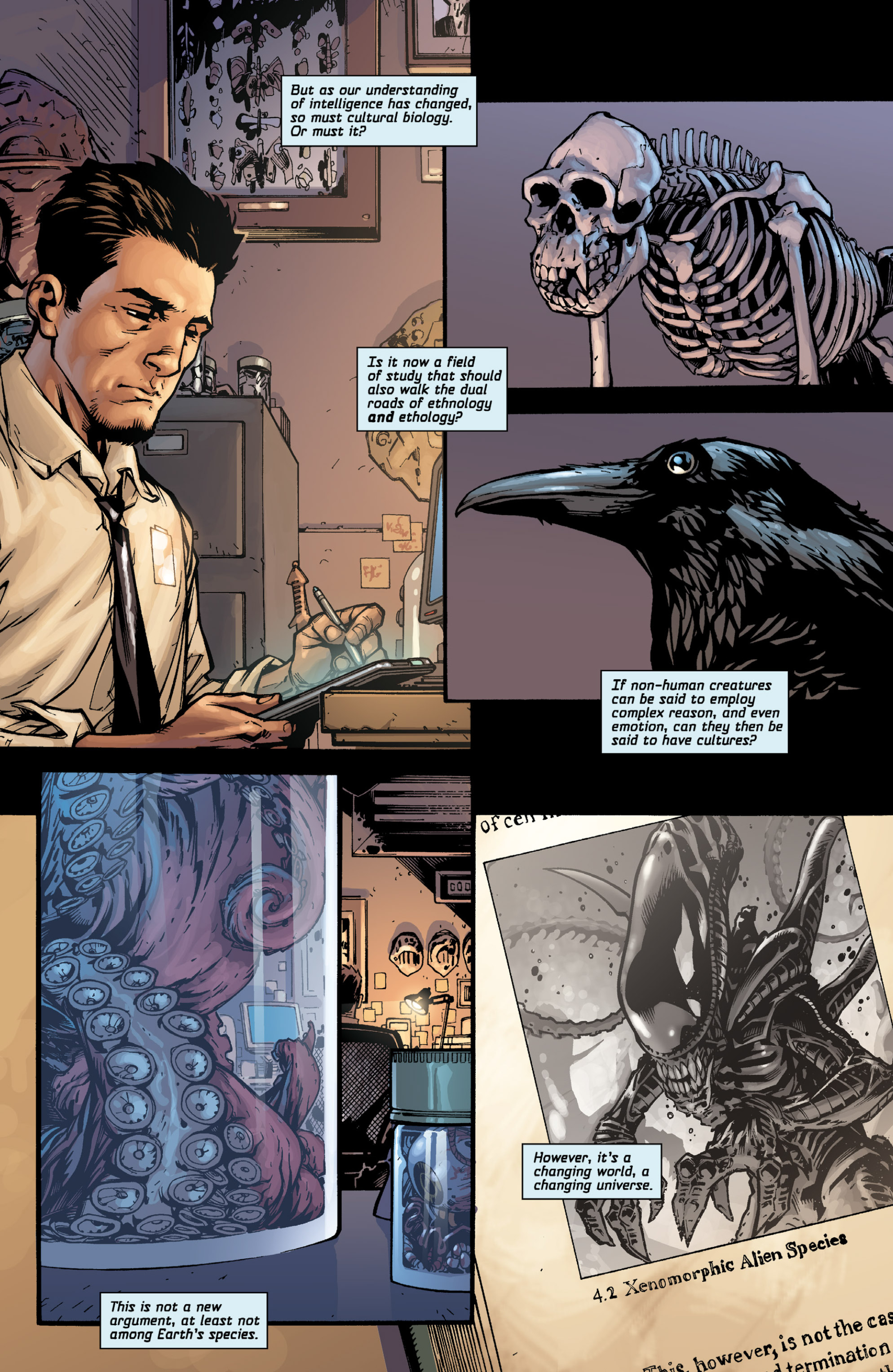 Aliens (2009) TPB Page 5