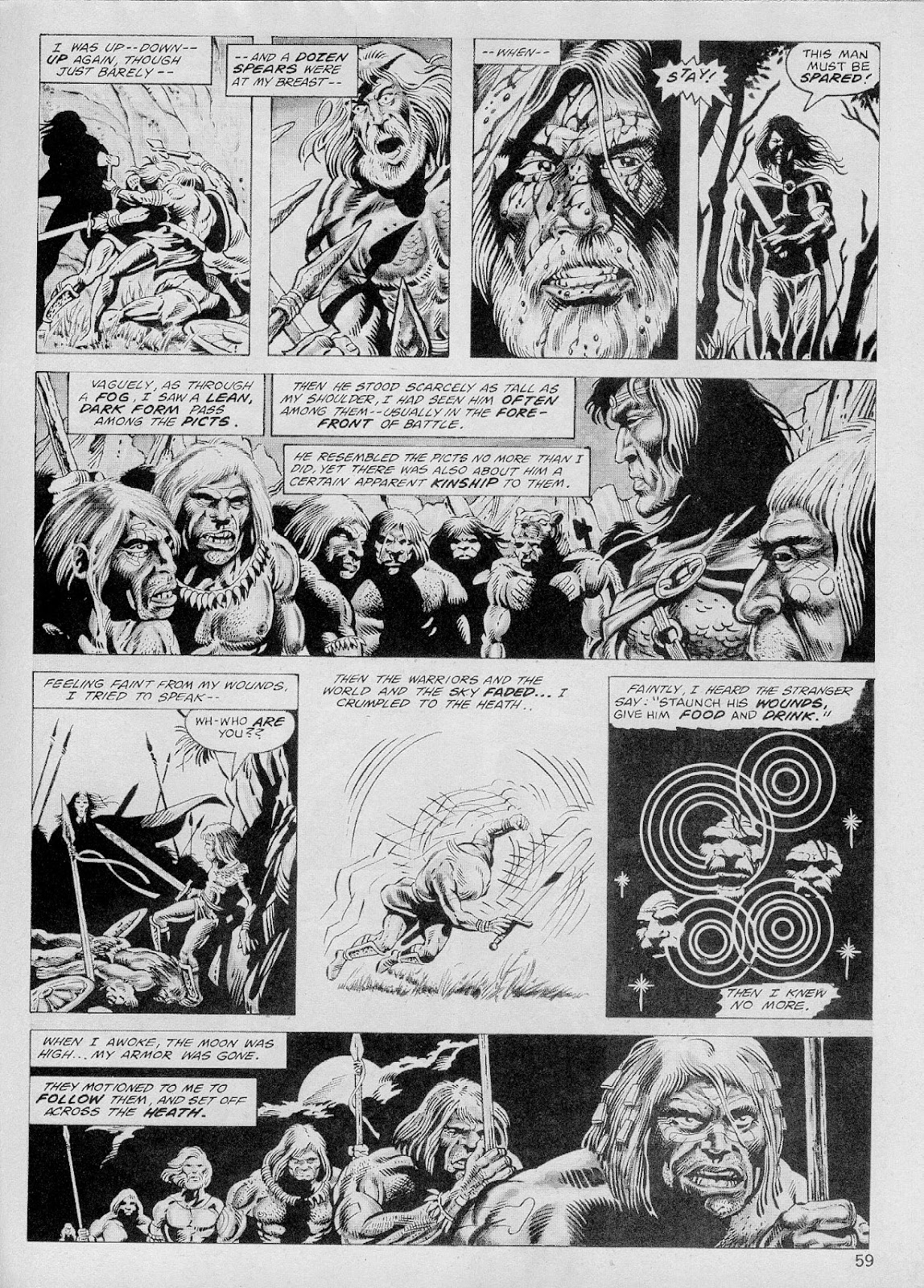 The Savage Sword Of Conan Issue #103 #104 - English 58